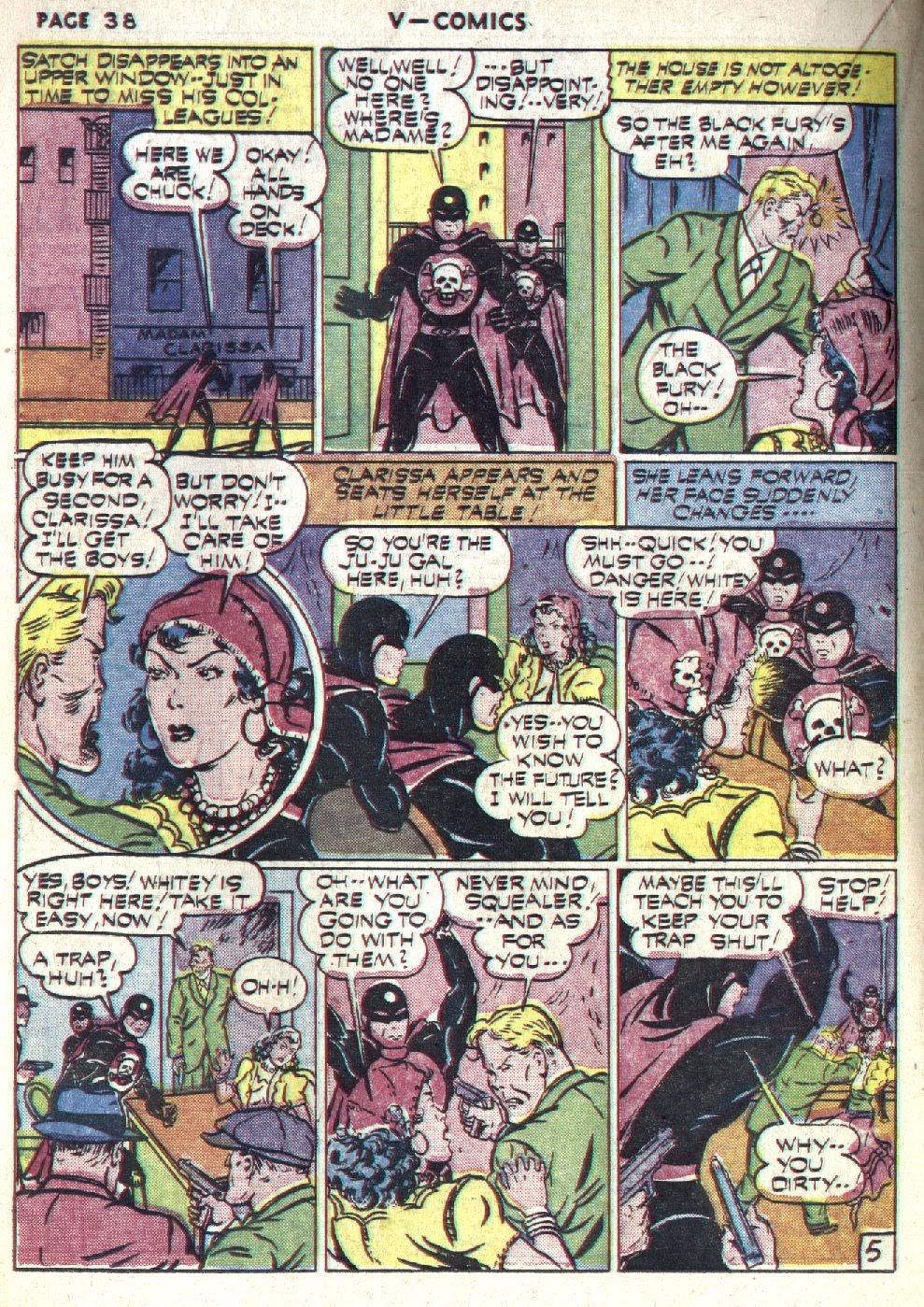 Read online V...- Comics comic -  Issue #1 - 39