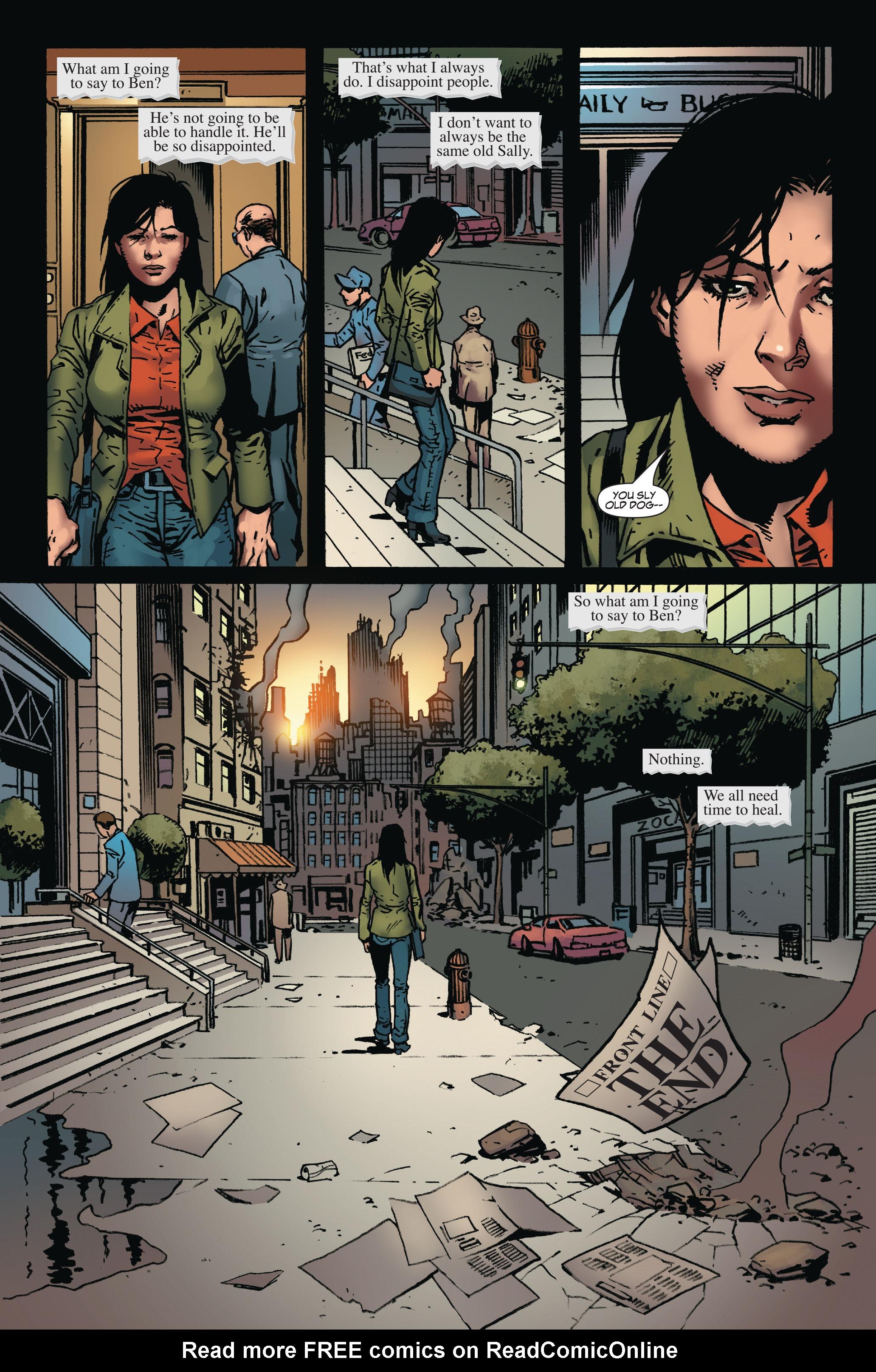 Read online World War Hulk: Front Line comic -  Issue #6 - 24