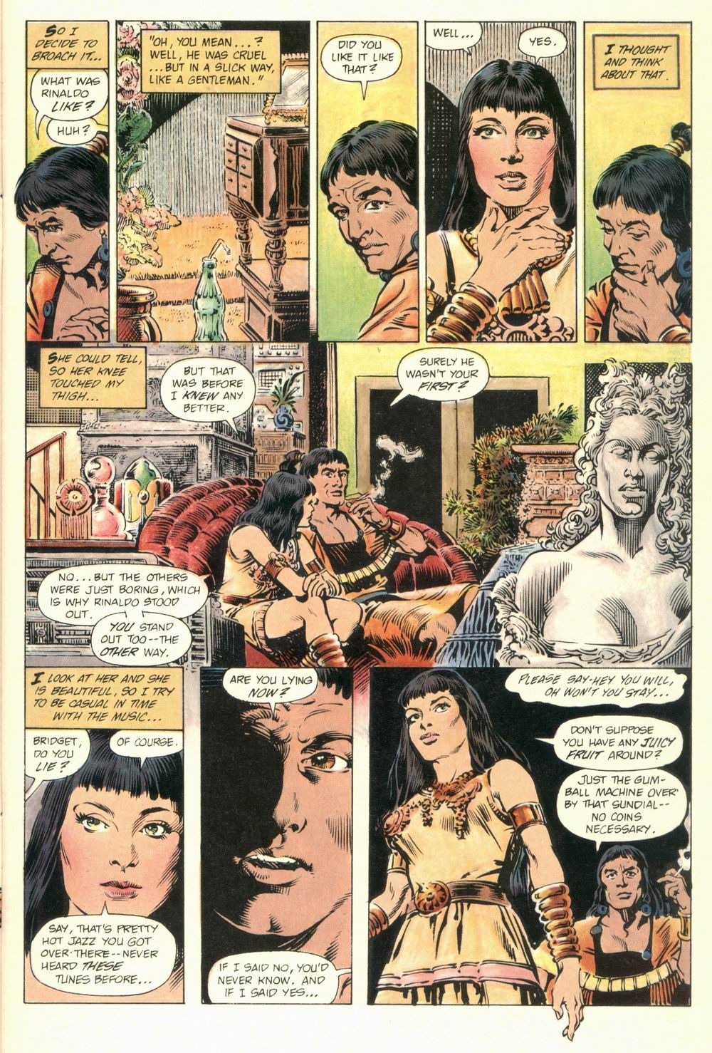 Read online Aztec Ace comic -  Issue #1 - 11