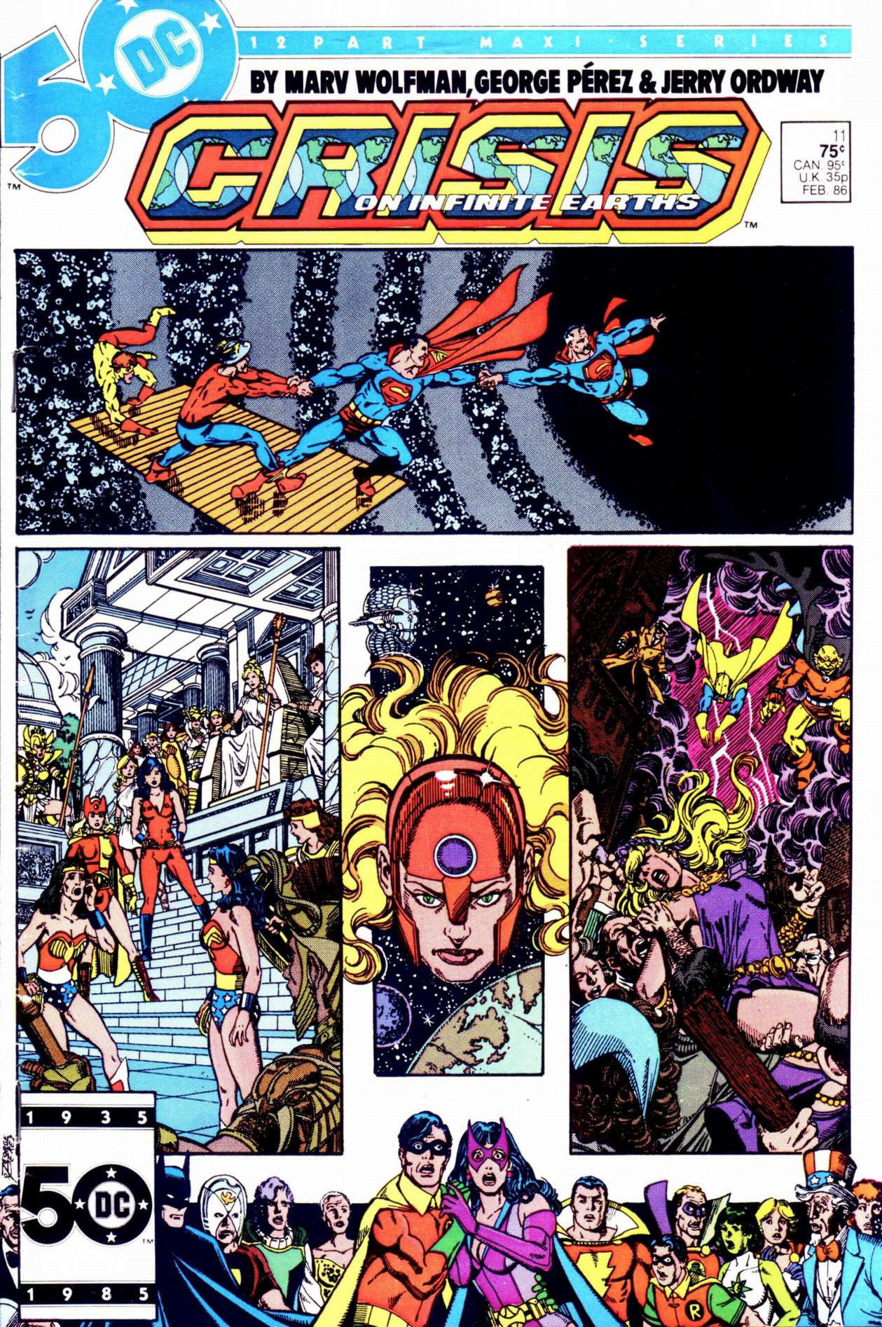 Crisis on Infinite Earths (1985) 11 Page 1