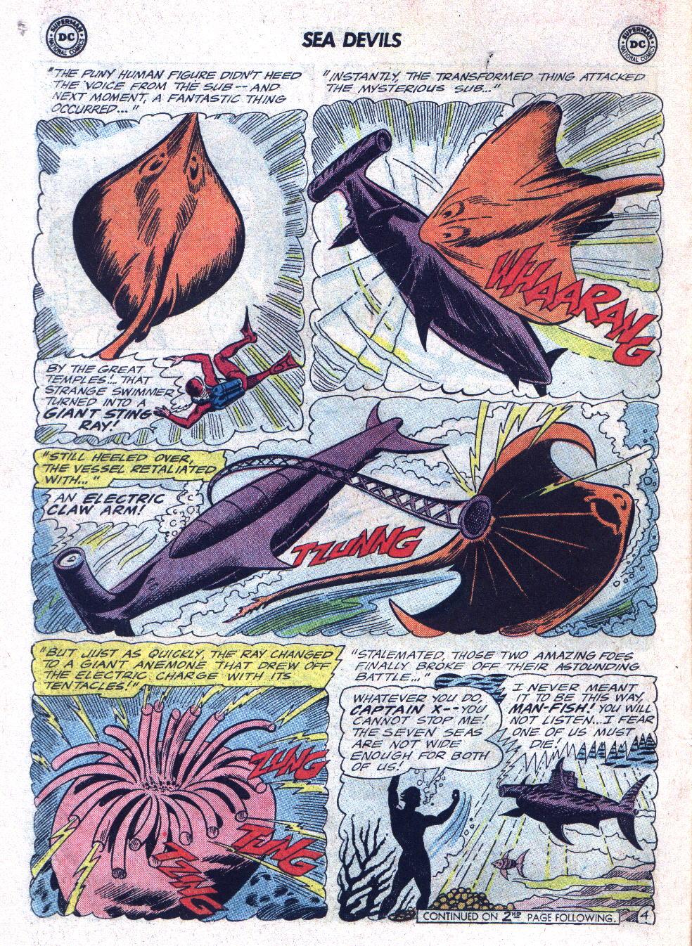 Read online Sea Devils comic -  Issue #22 - 6