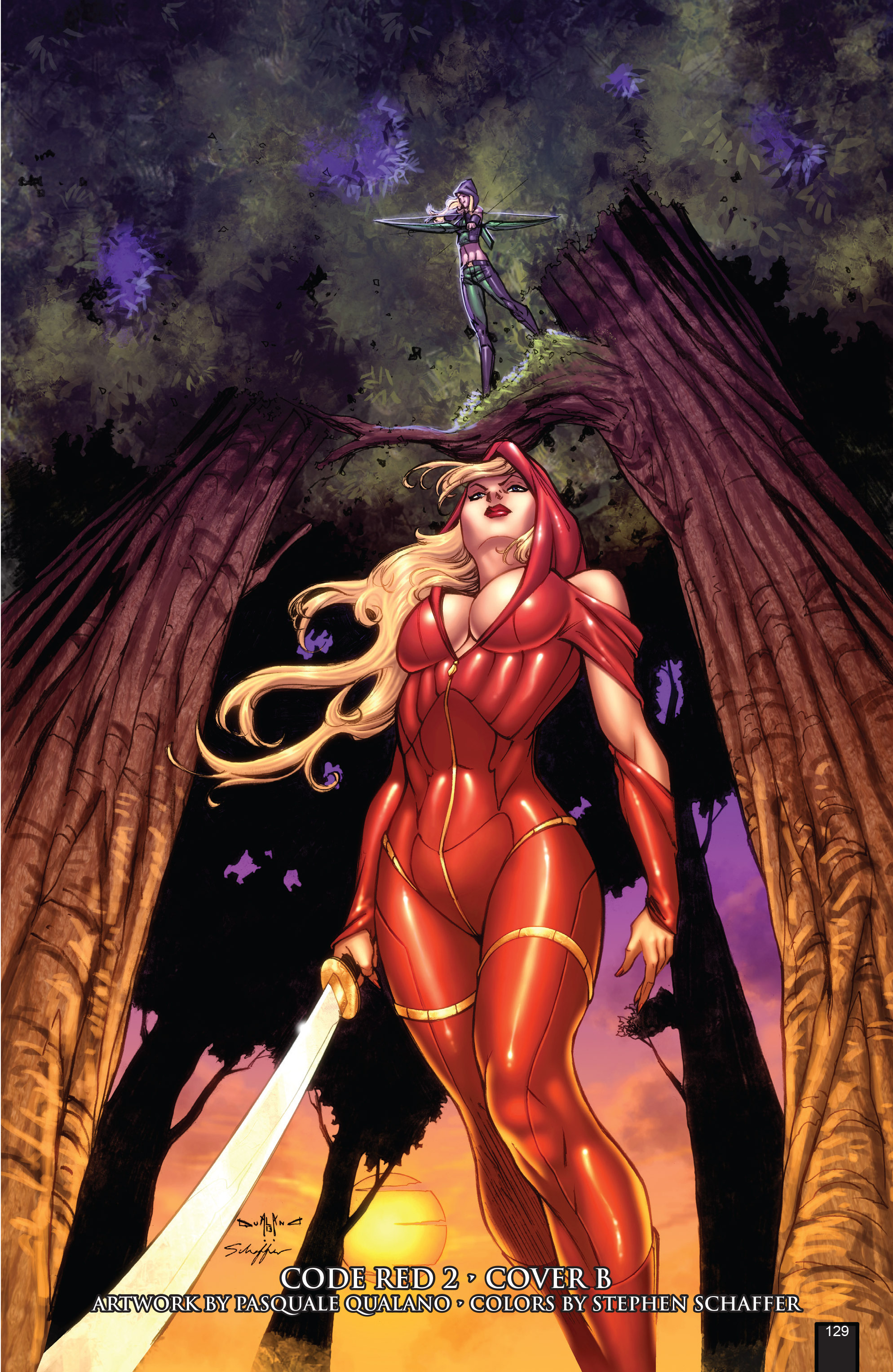 Read online Grimm Fairy Tales presents Code Red comic -  Issue # TPB - 129