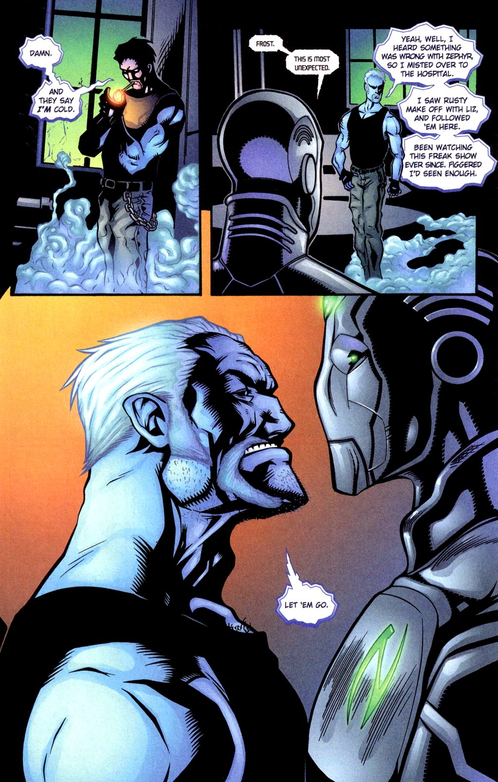 Read online Noble Causes (2002) comic -  Issue #4 - 9