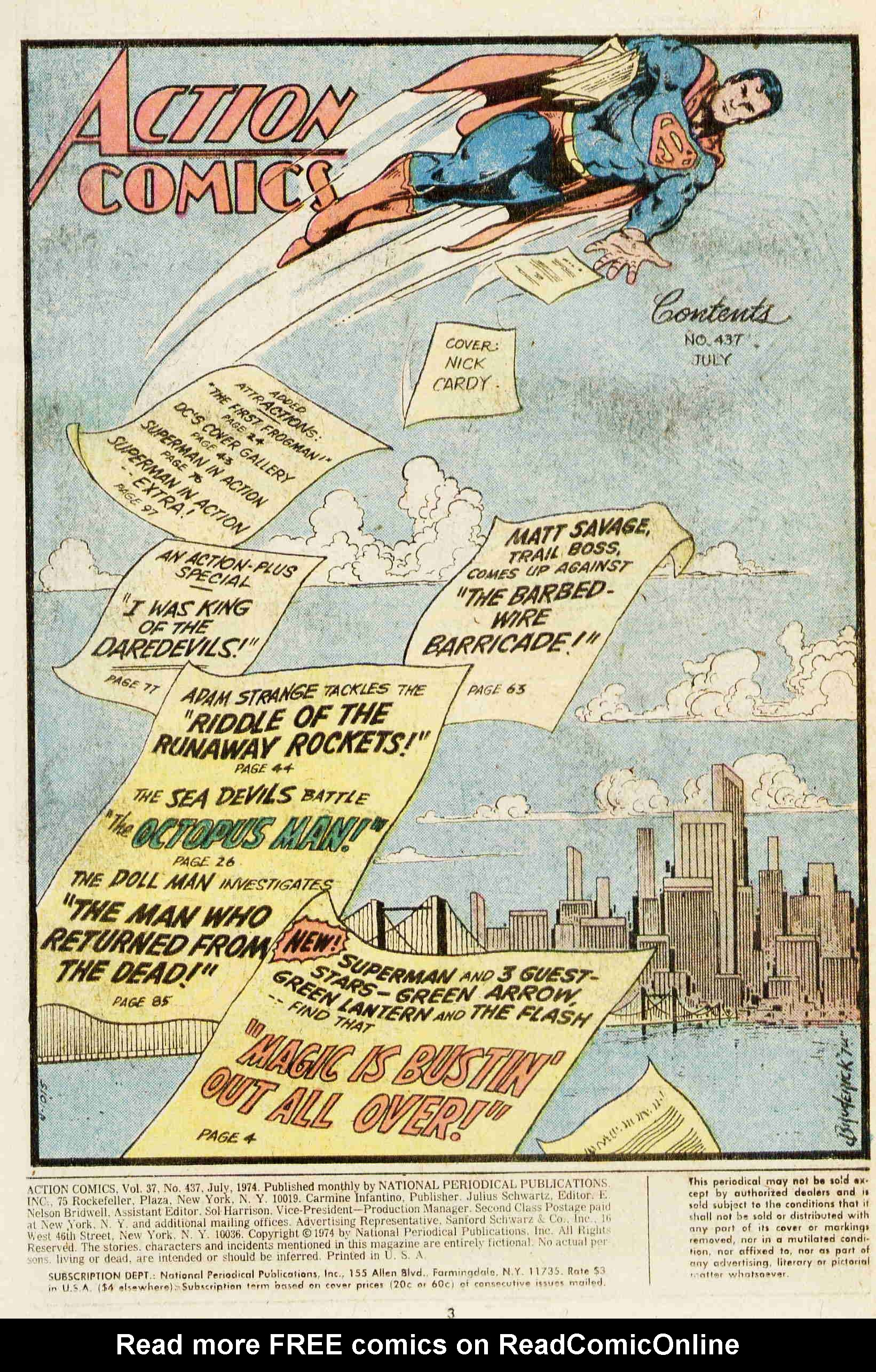 Read online Action Comics (1938) comic -  Issue #437 - 2