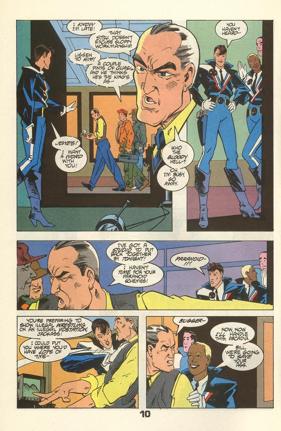 Read online American Flagg! comic -  Issue #34 - 14