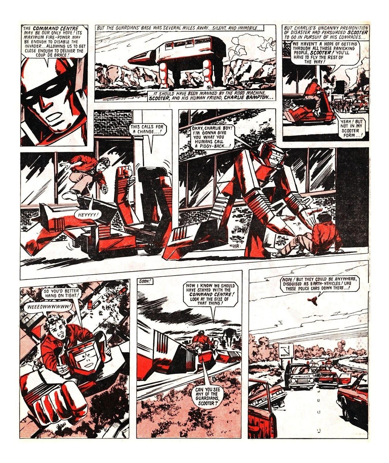 Read online Robo Machines comic -  Issue # TPB - 104