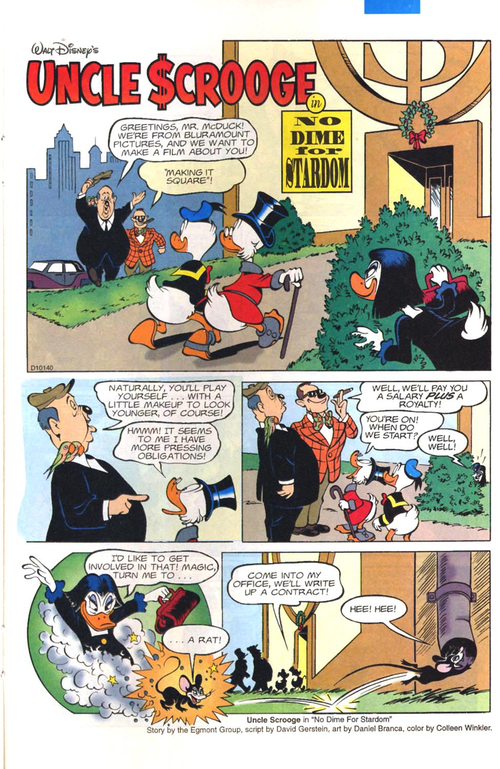 Read online Uncle Scrooge (1953) comic -  Issue #297 - 19