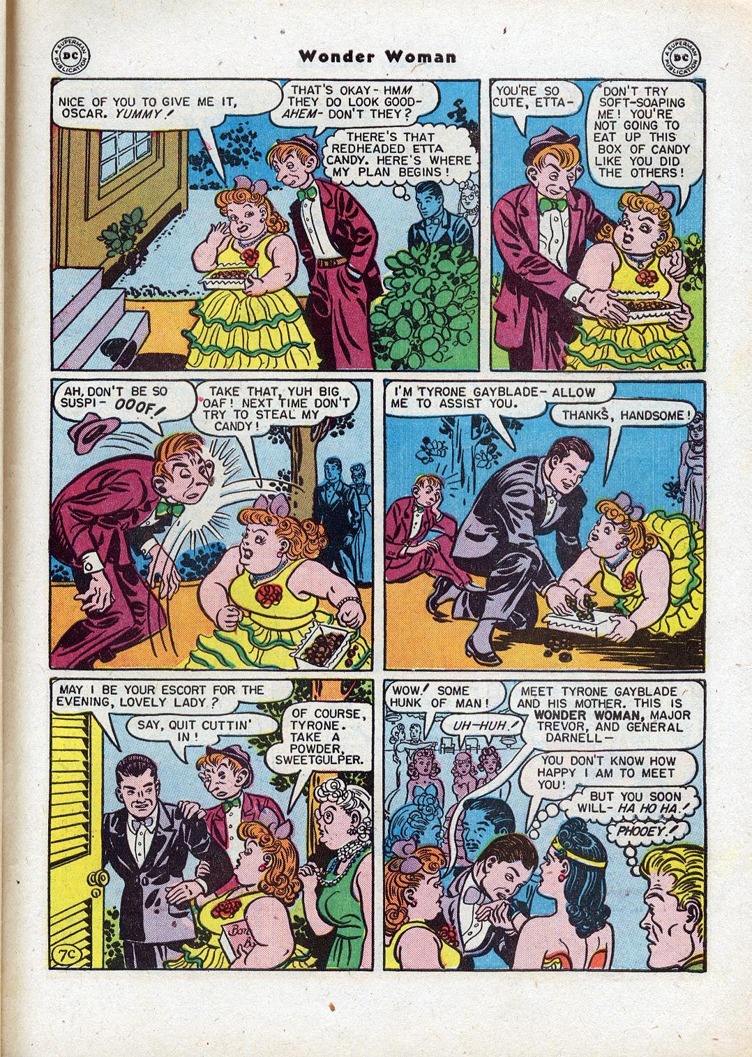 Read online Wonder Woman (1942) comic -  Issue #18 - 45