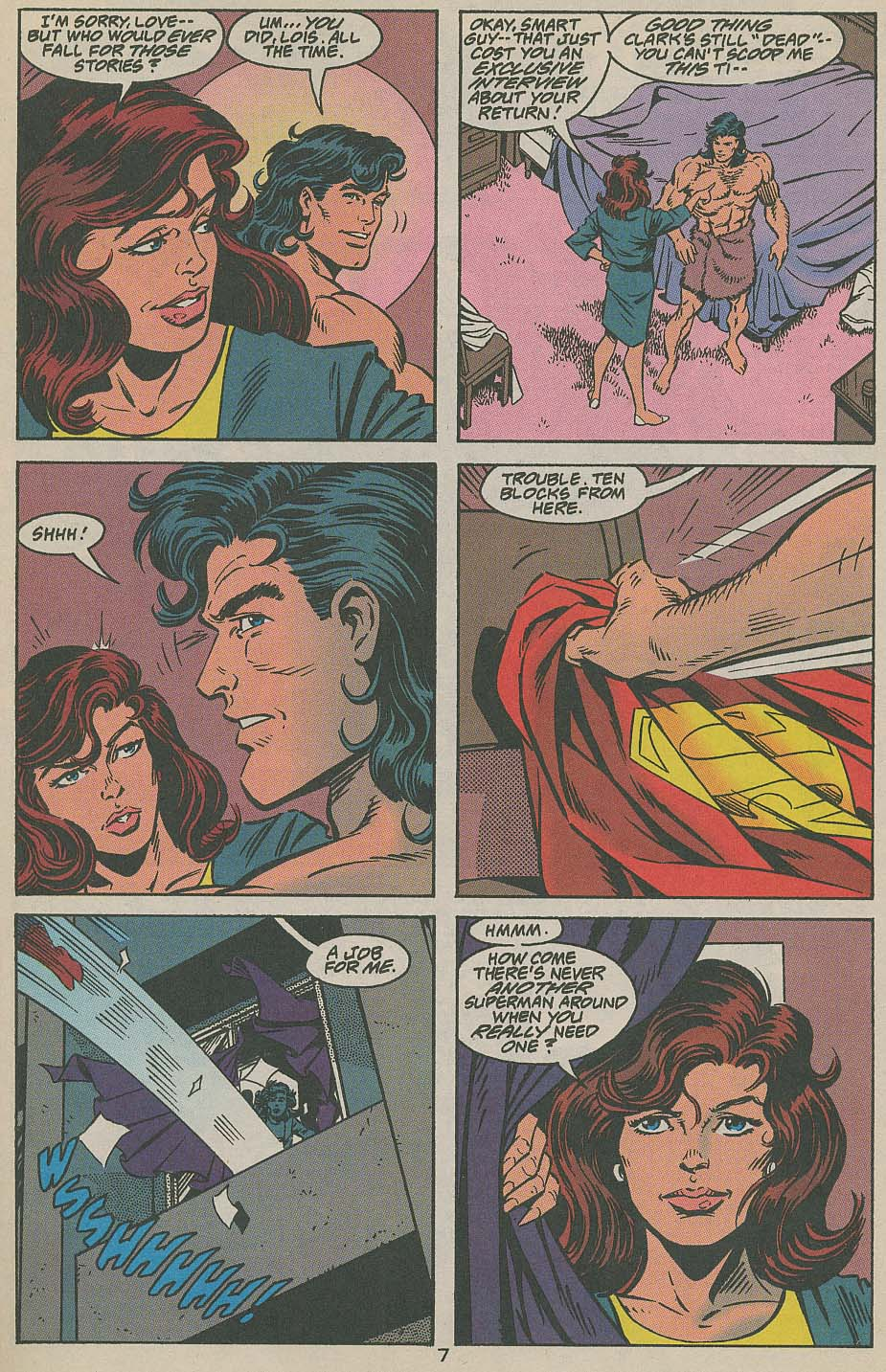 Read online Adventures of Superman (1987) comic -  Issue #505 - 8