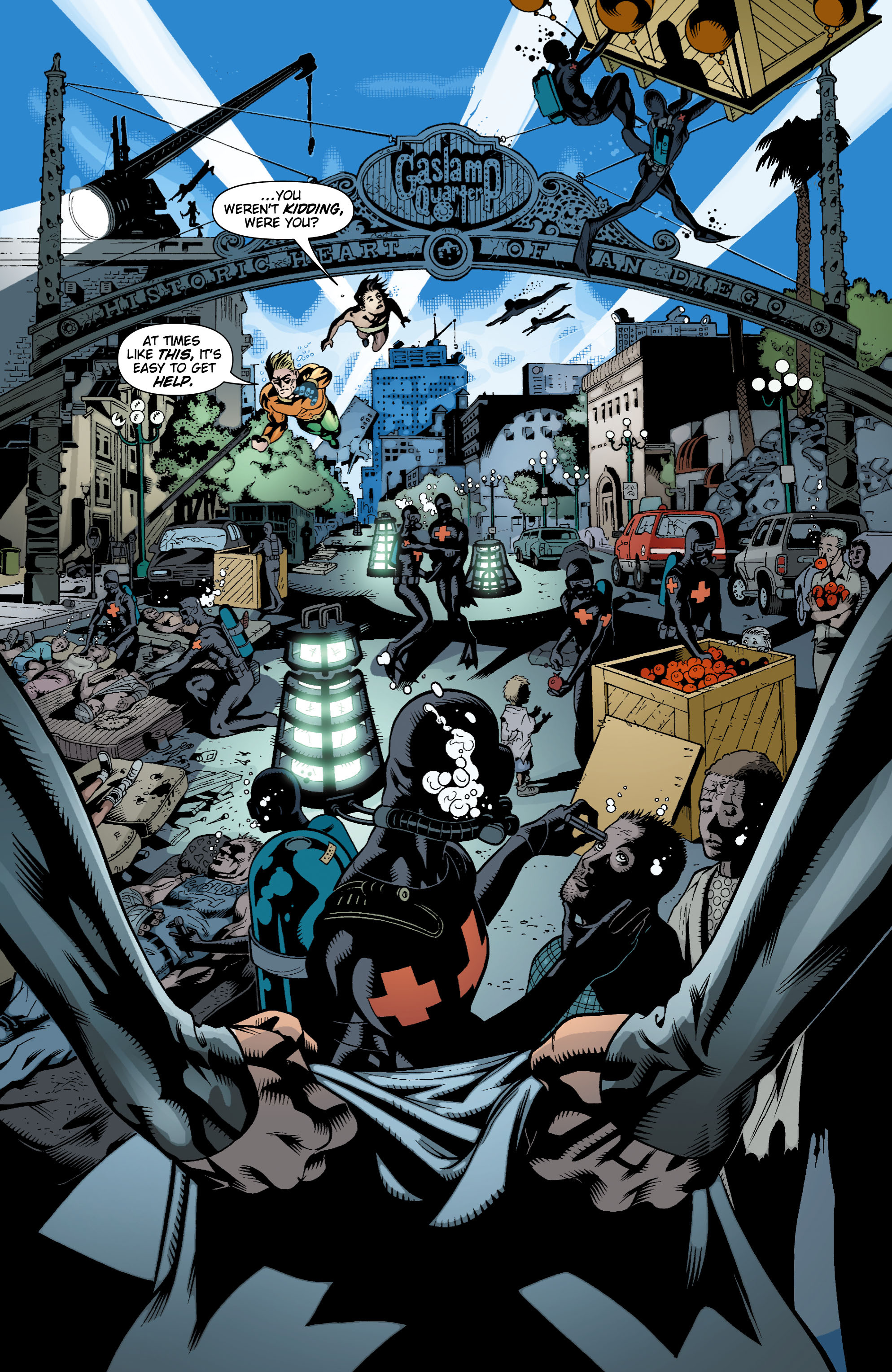 Read online Aquaman (2003) comic -  Issue #17 - 17