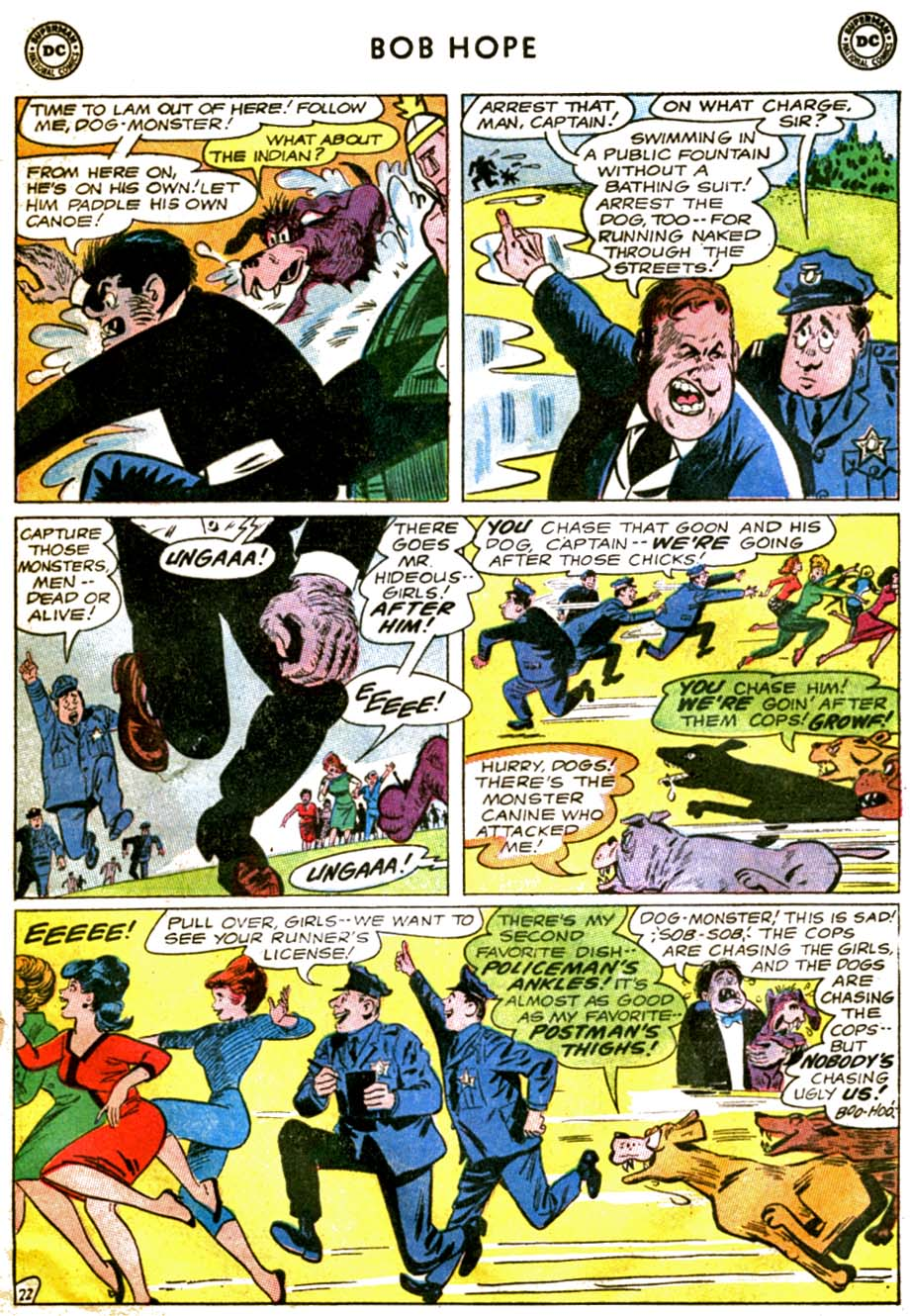 The Adventures of Bob Hope issue 92 - Page 29