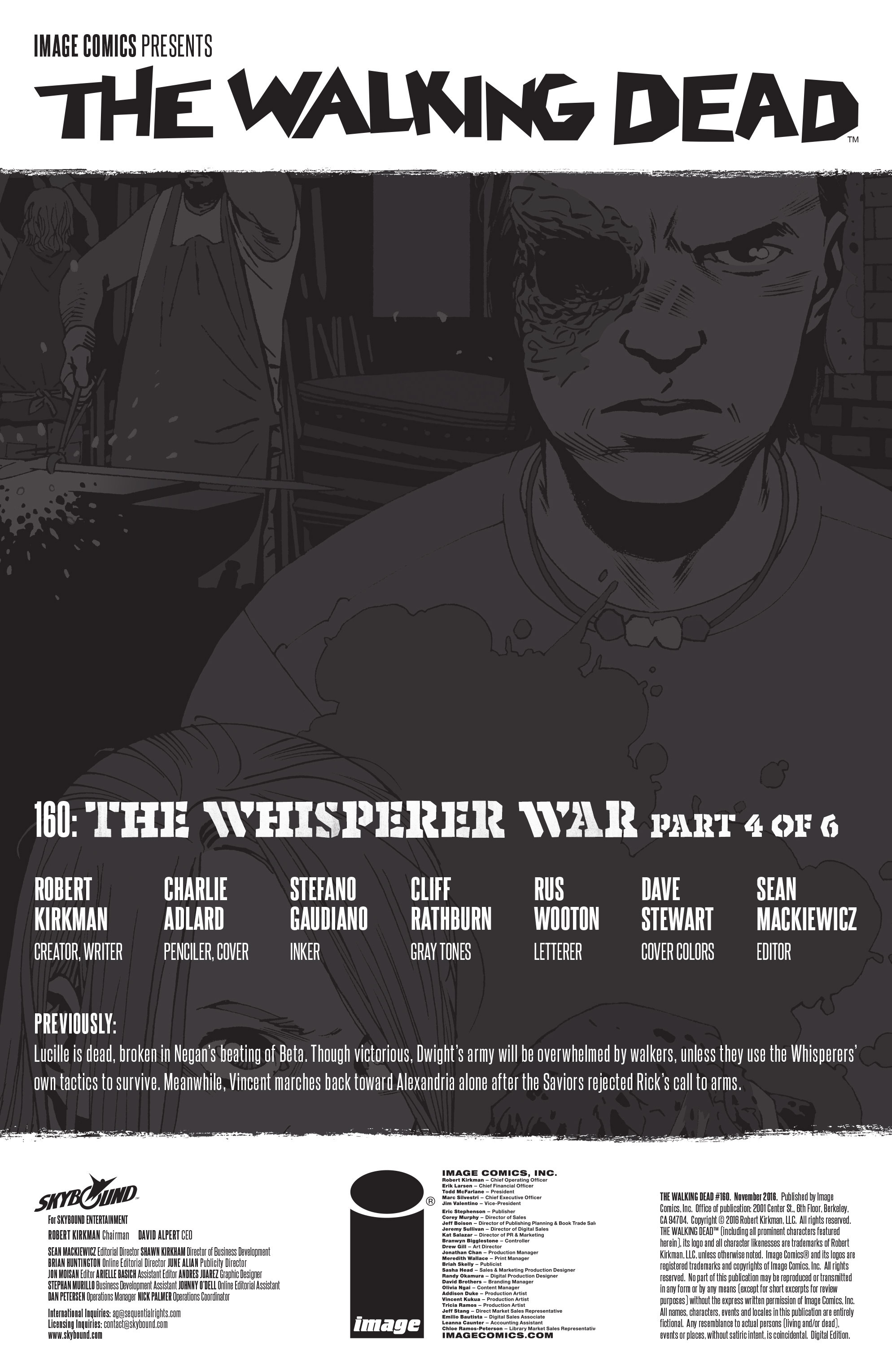 The Walking Dead 160 Page 2