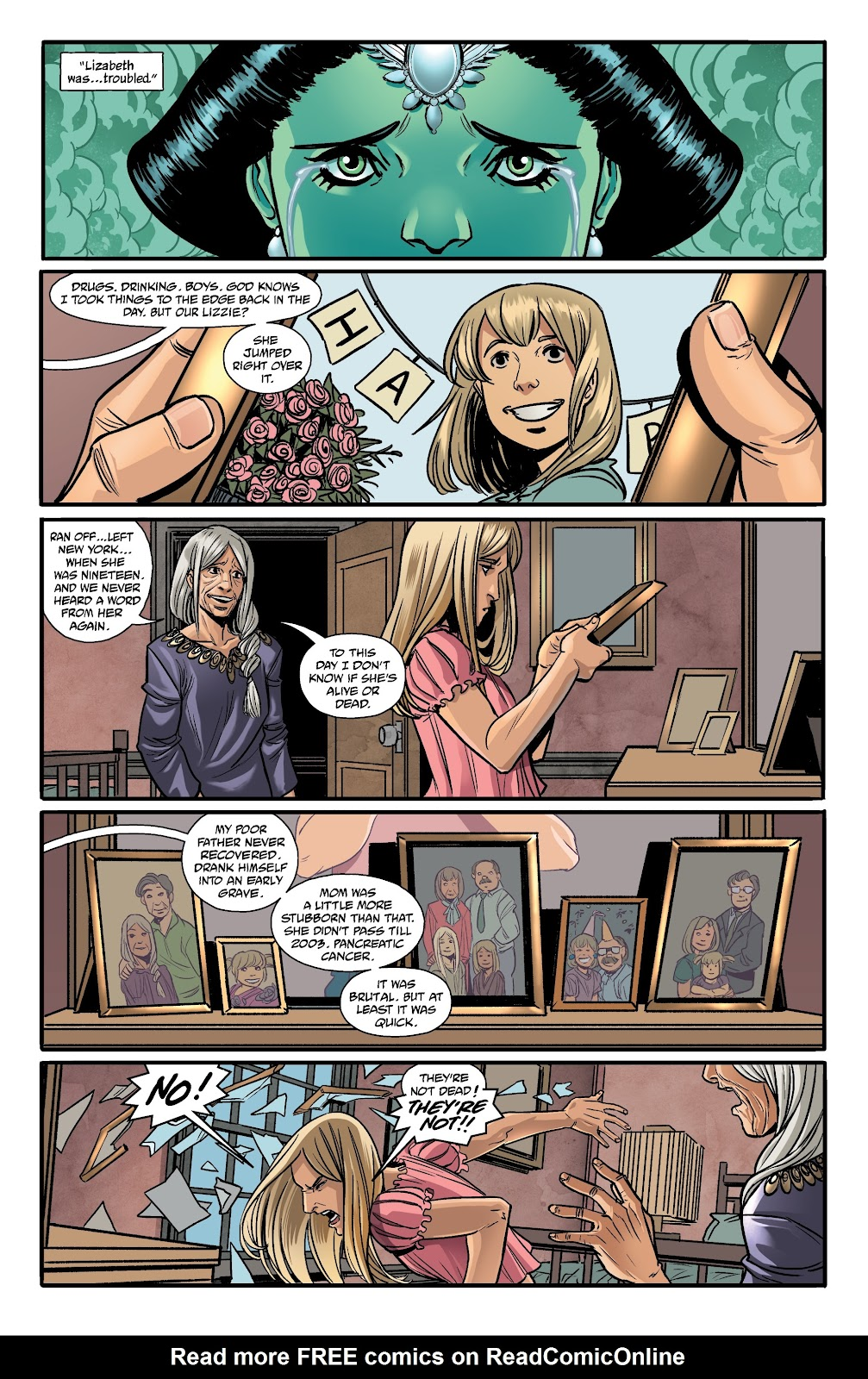 Read online The Girl In The Bay comic -  Issue #1 - 25