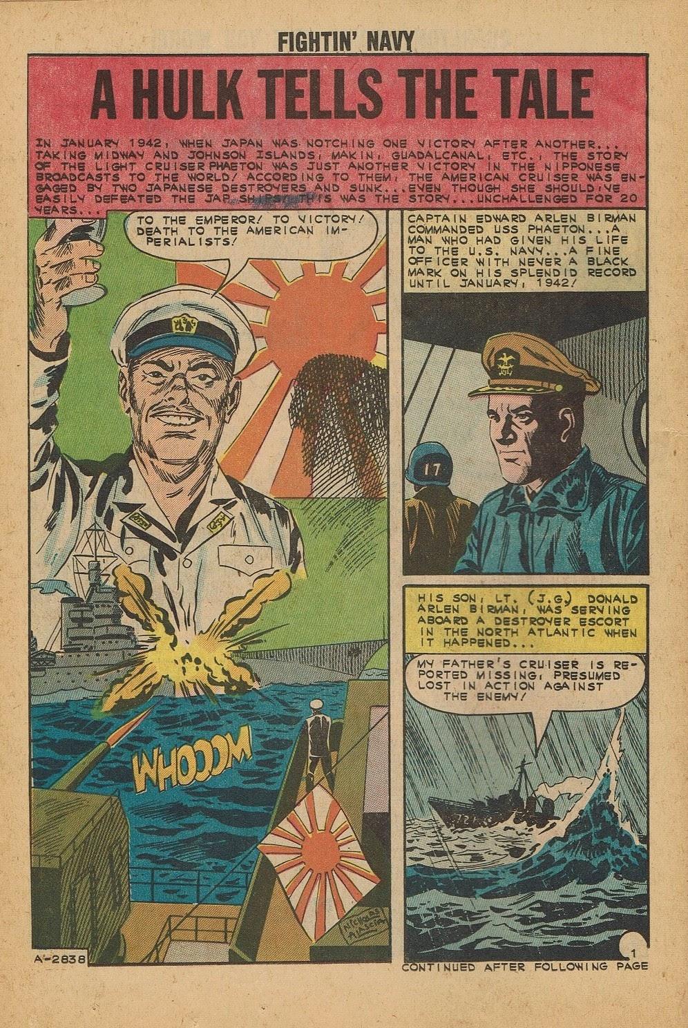 Read online Fightin' Navy comic -  Issue #112 - 14