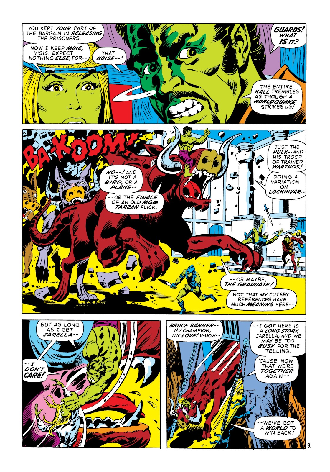 Read online Marvel Masterworks: The Incredible Hulk comic -  Issue # TPB 8 (Part 3) - 70