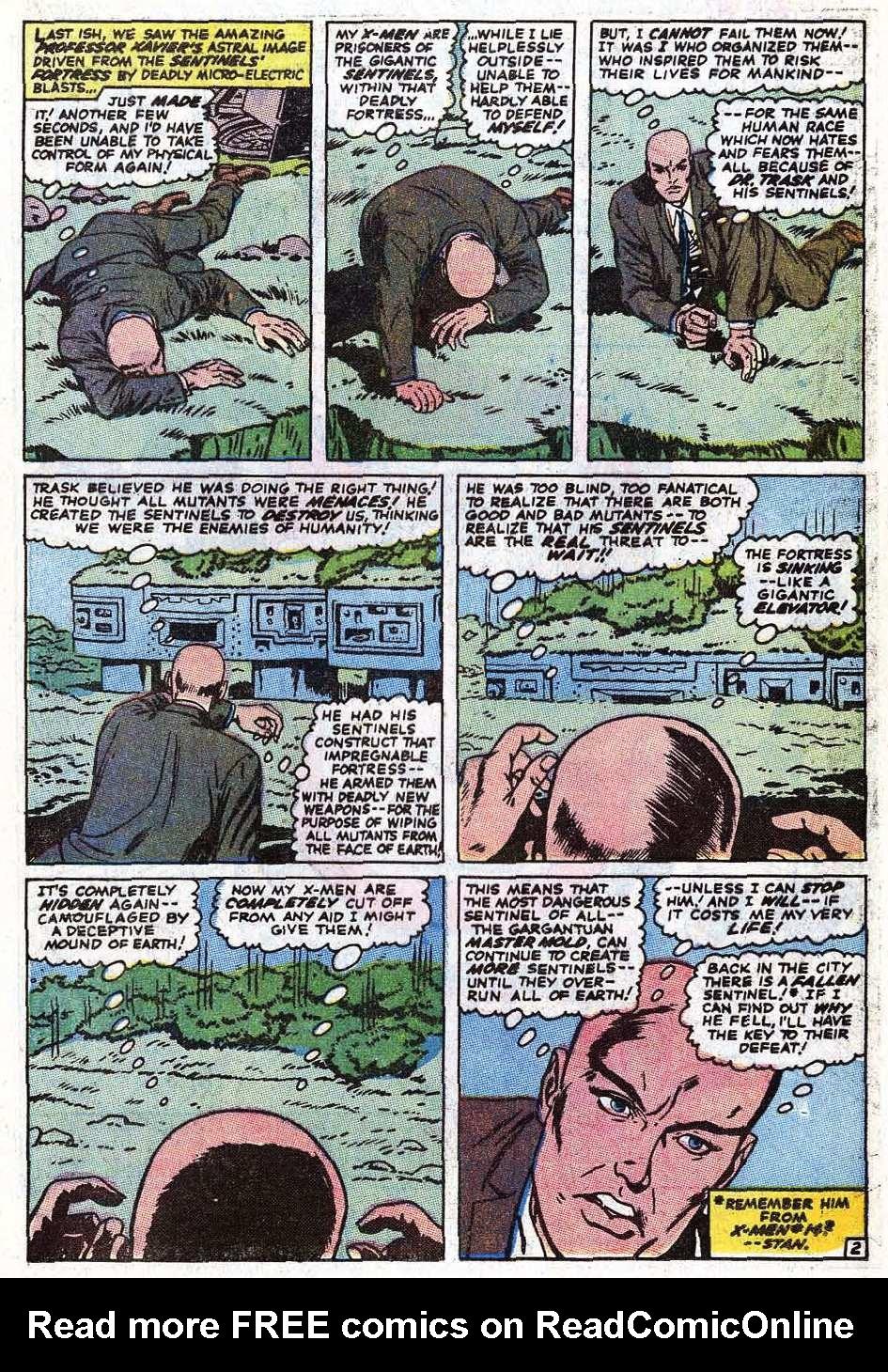 Read online Uncanny X-Men (1963) comic -  Issue #69 - 4