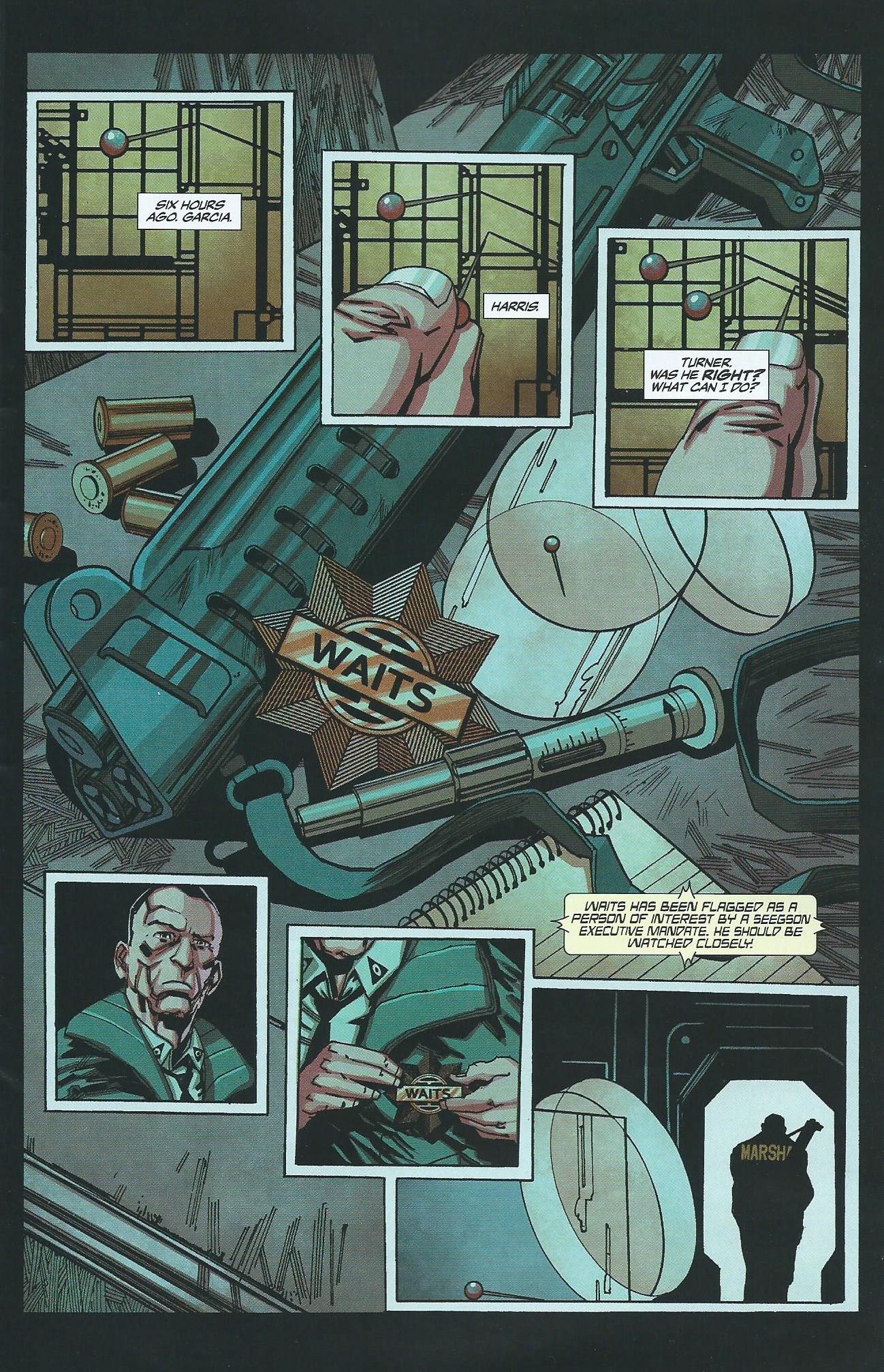 Read online Alien: Isolation comic -  Issue # Full - 8