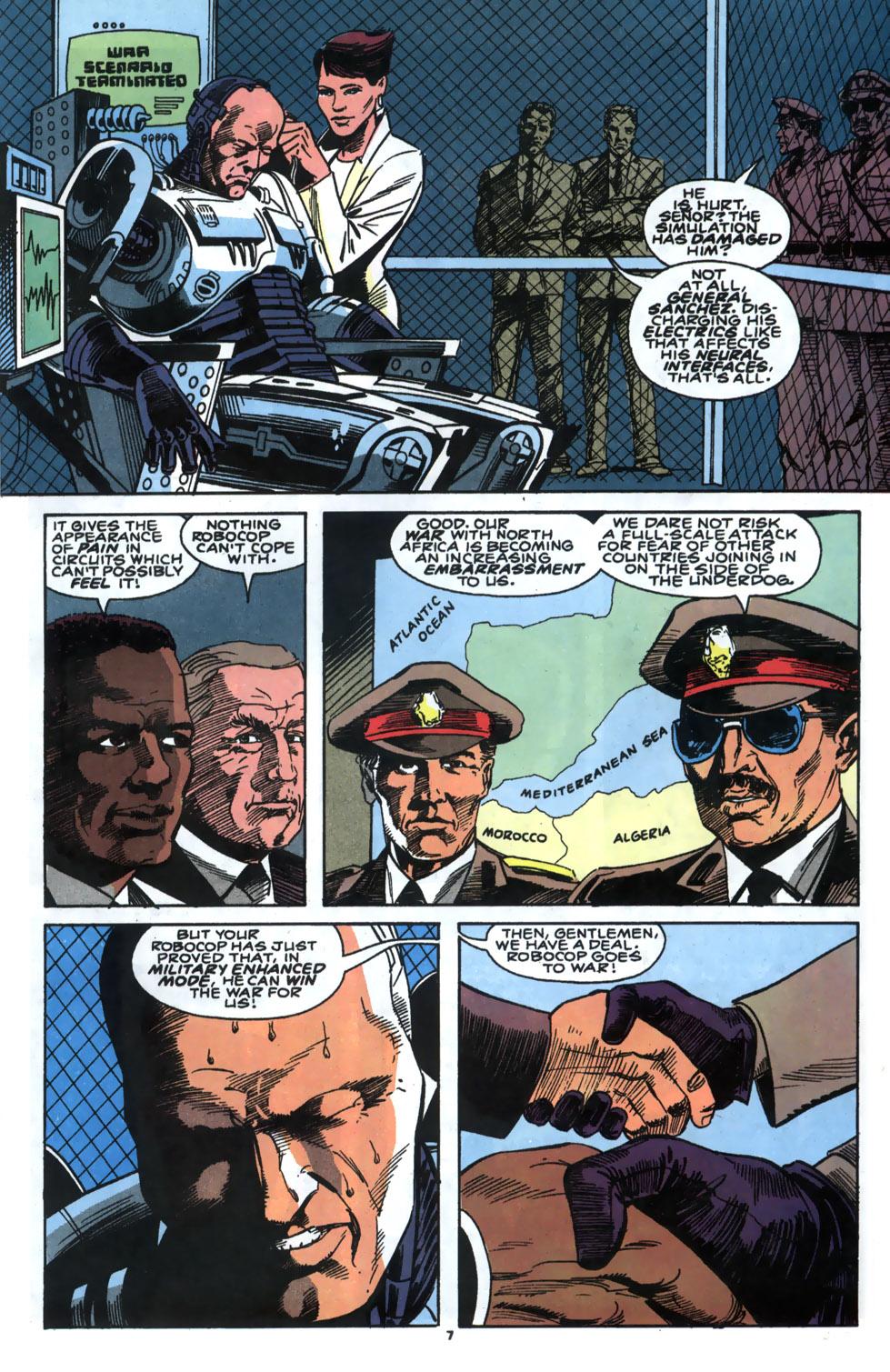 Read online Robocop (1990) comic -  Issue #5 - 6