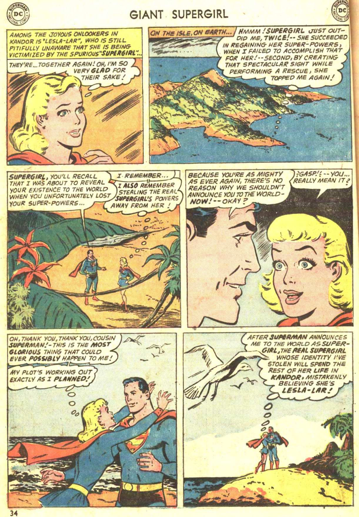 Read online Action Comics (1938) comic -  Issue #360 - 33