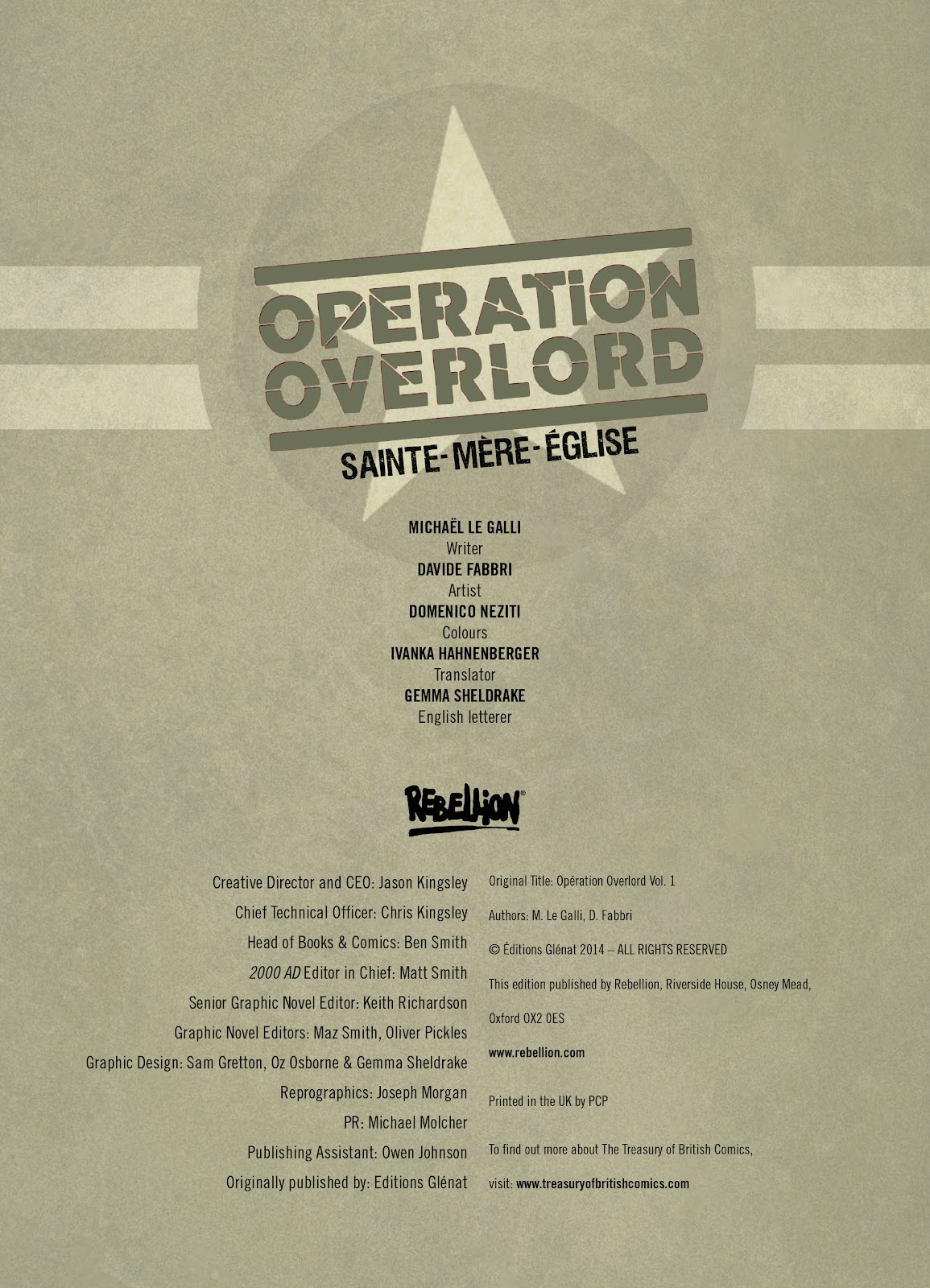 Read online Opération Overlord comic -  Issue #1 - 2