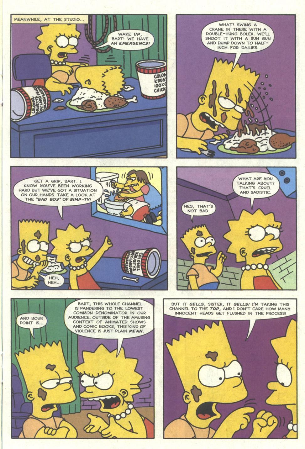 Read online Simpsons Comics comic -  Issue #17 - 14