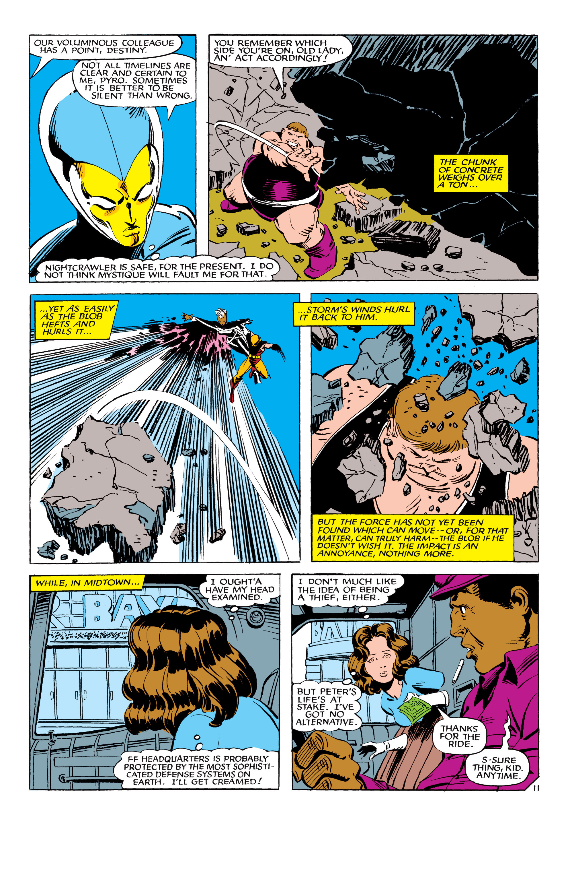 Read online Uncanny X-Men (1963) comic -  Issue #178 - 12