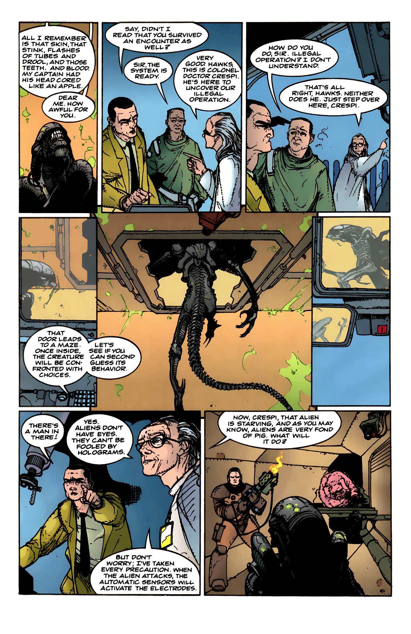 Read online Aliens: Labyrinth comic -  Issue #1 - 15