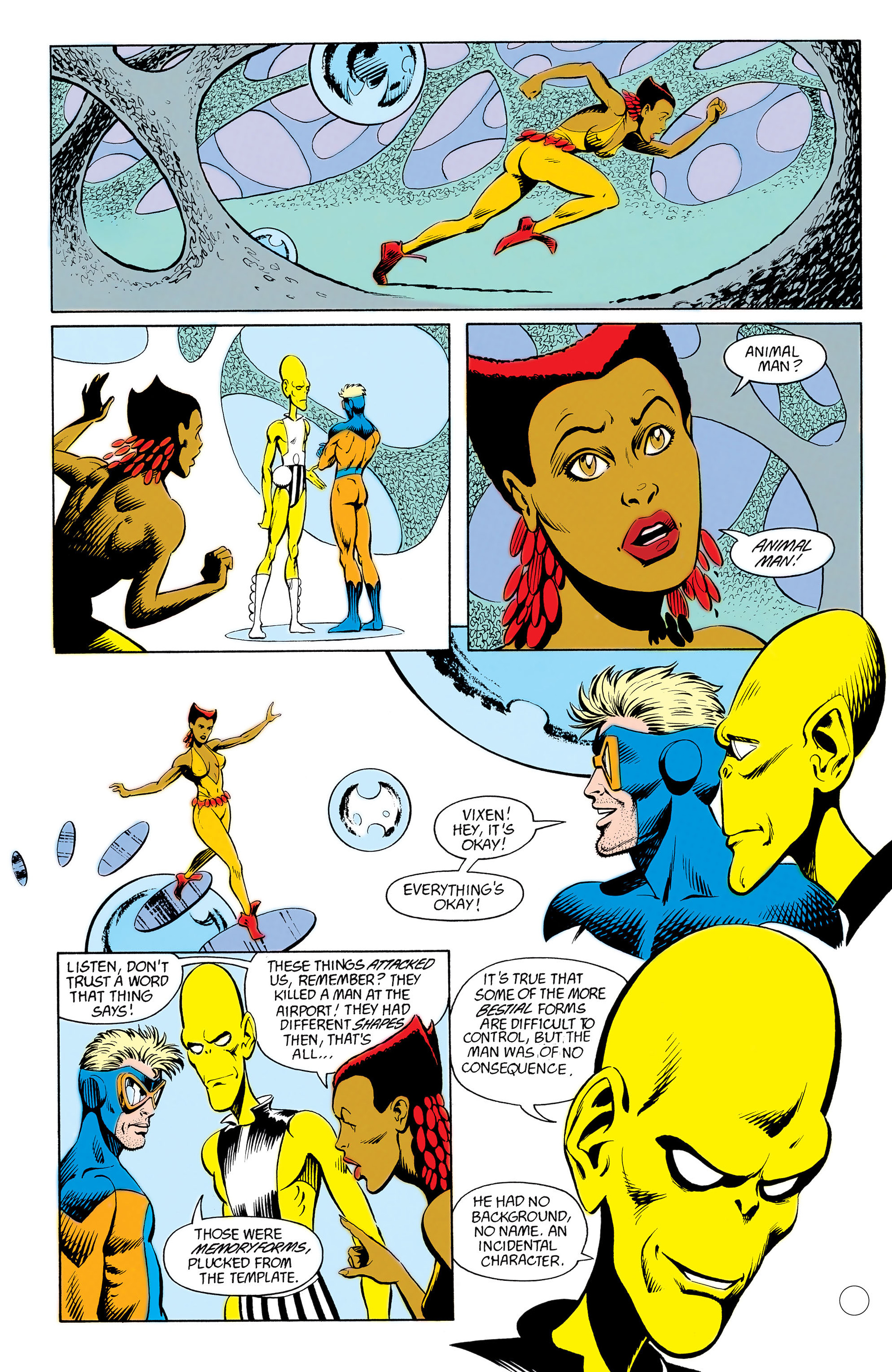 Read online Animal Man (1988) comic -  Issue #12 - 15