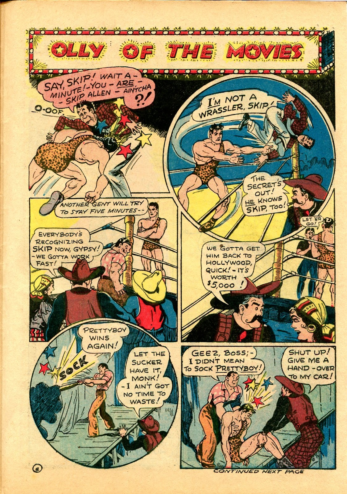 Read online Famous Funnies comic -  Issue #102 - 57