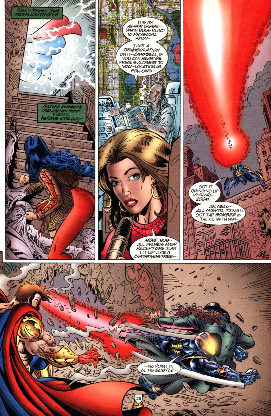 Read online UltraForce (1995) comic -  Issue #2 - 21