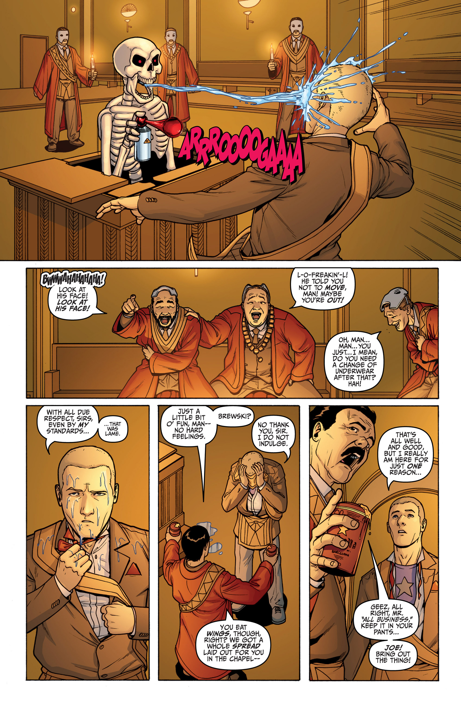 Archer and Armstrong 18 Page 9