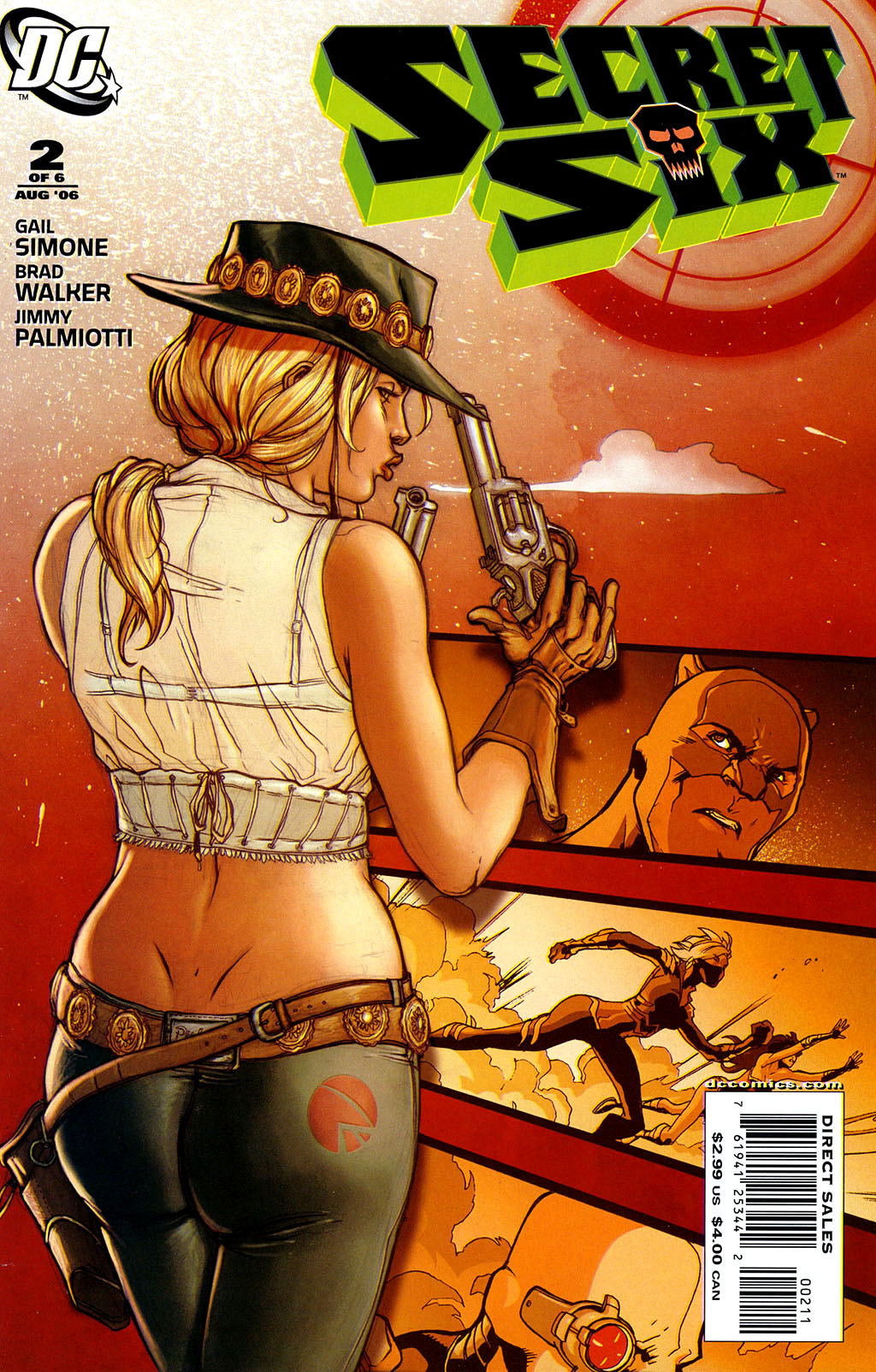 Read online Secret Six (2006) comic -  Issue #2 - 1