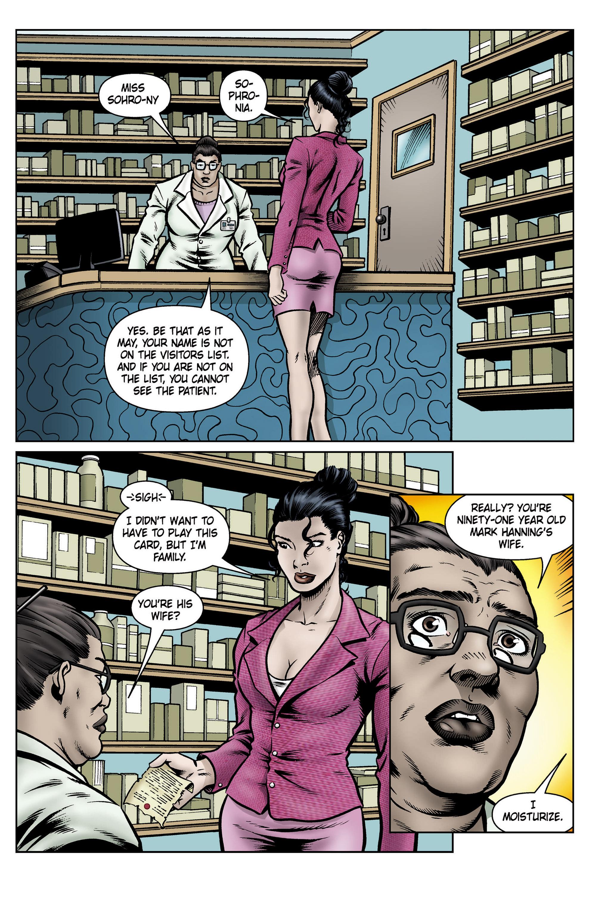 Read online SideChicks comic -  Issue #5 - 5