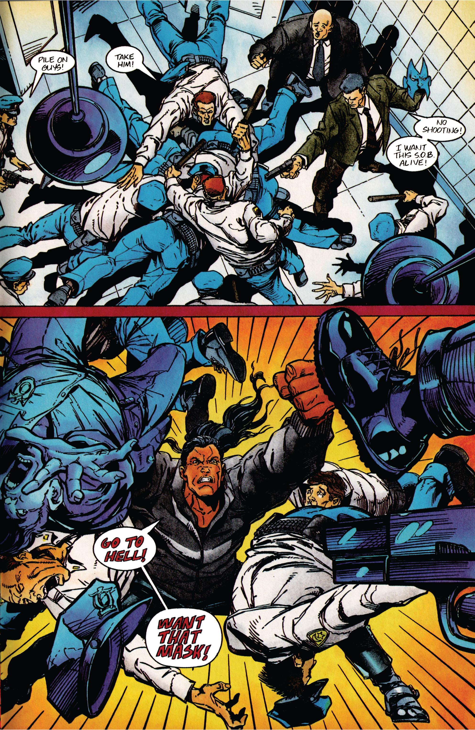 Read online Shadowman (1992) comic -  Issue #41 - 17