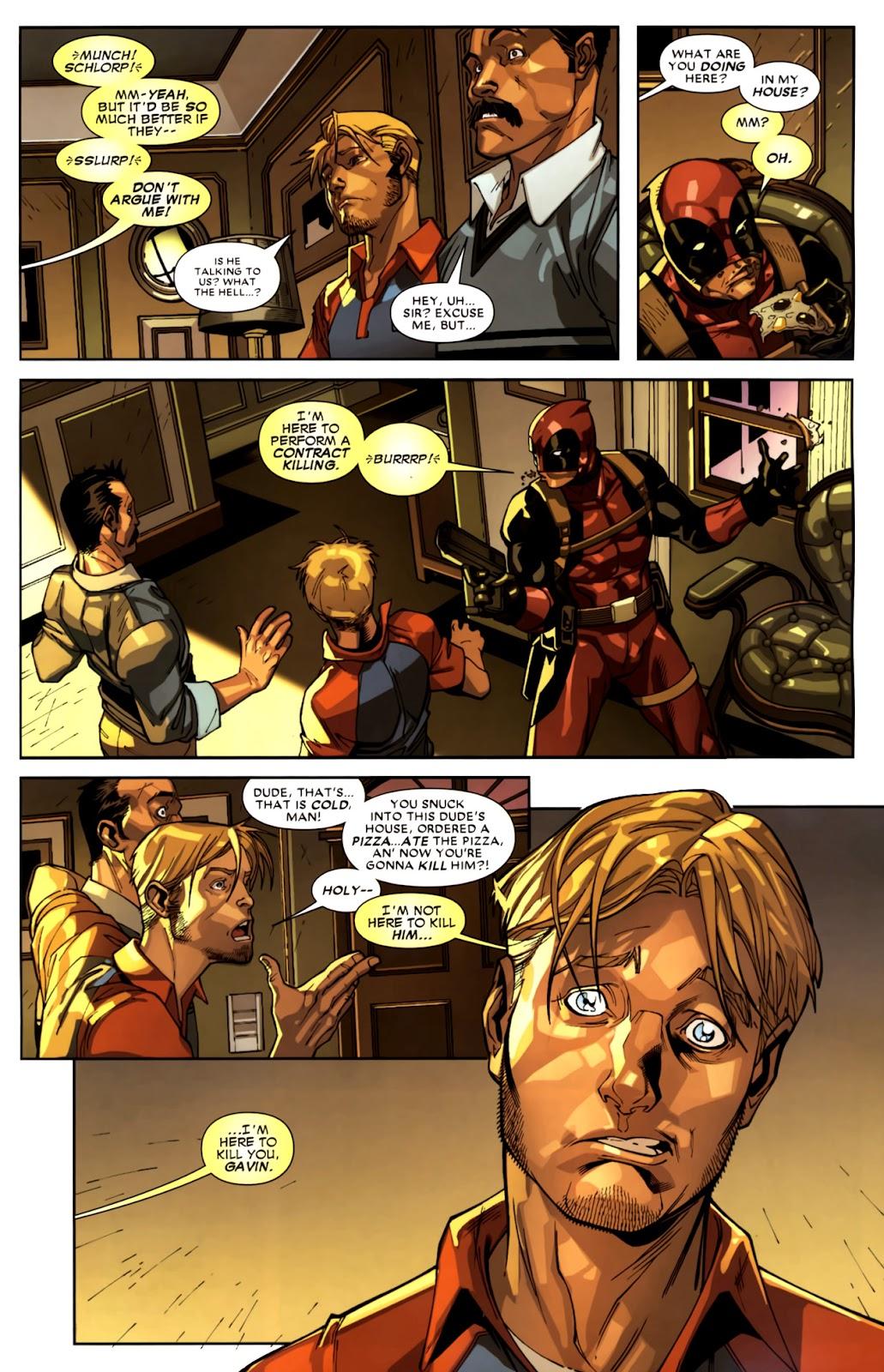 Read online Deadpool (2008) comic -  Issue #10 - 10