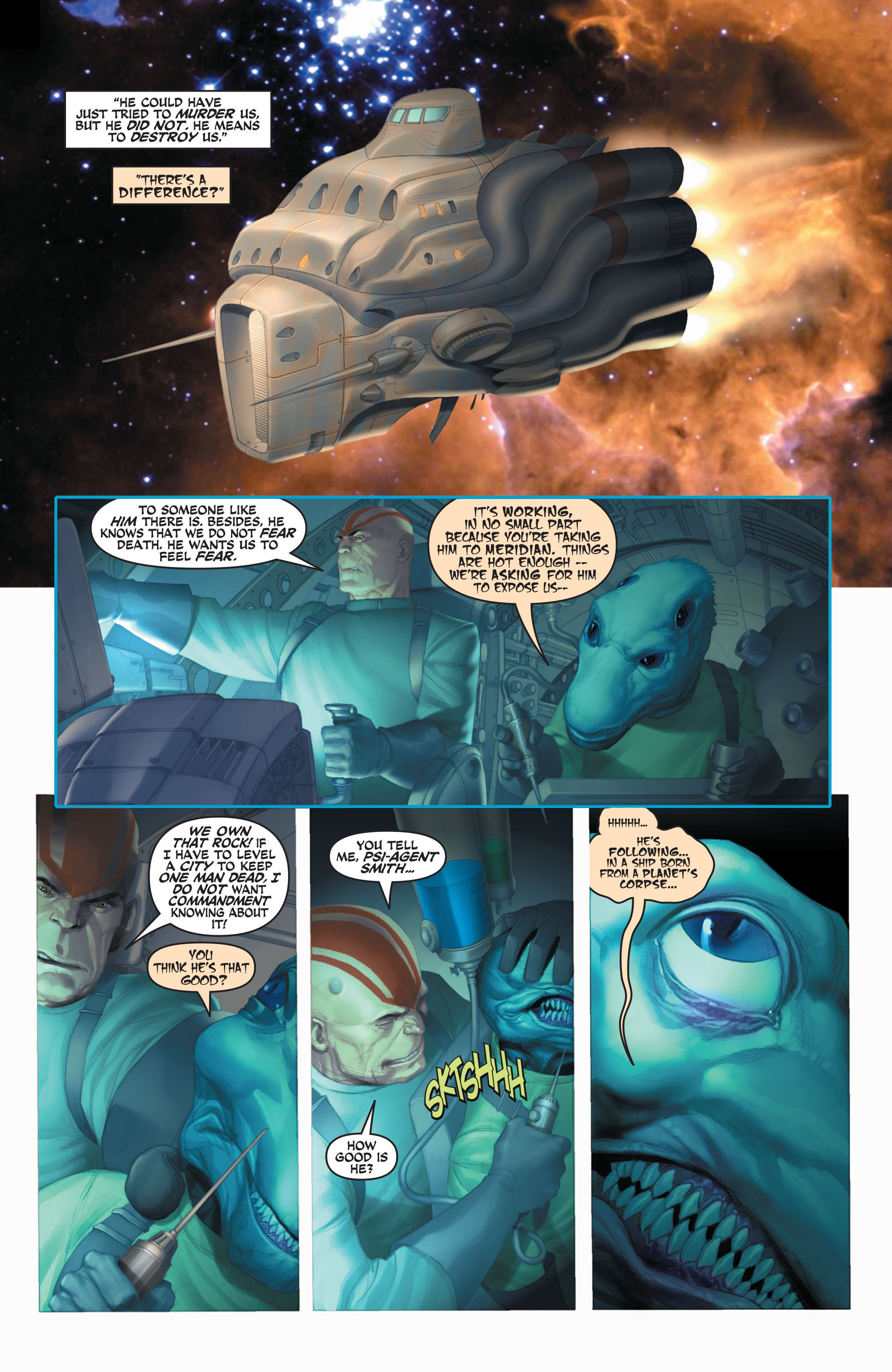 Read online Space Ghost (2016) comic -  Issue # Full - 60