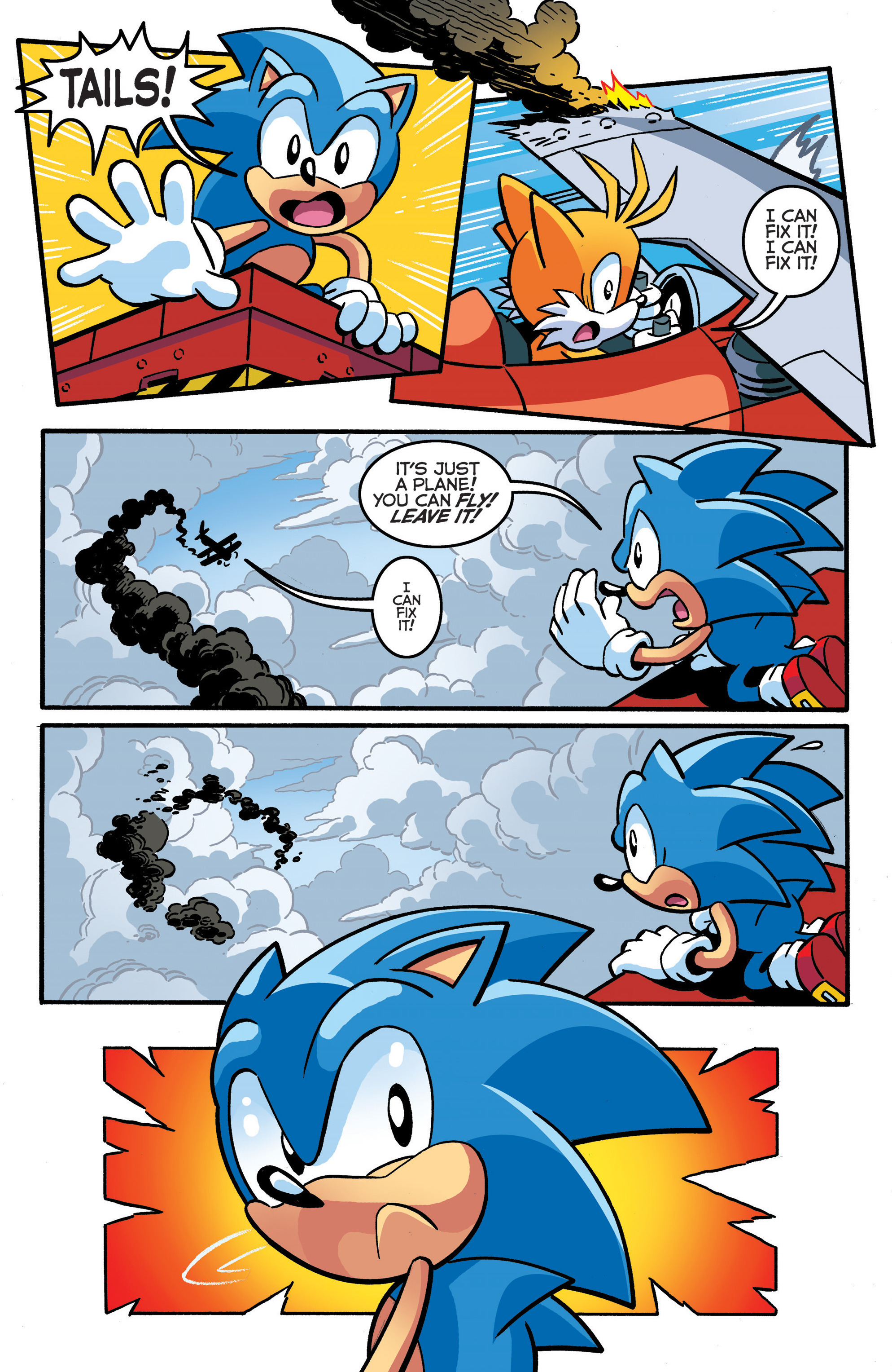 Read online Sonic The Hedgehog comic -  Issue #289 - 6