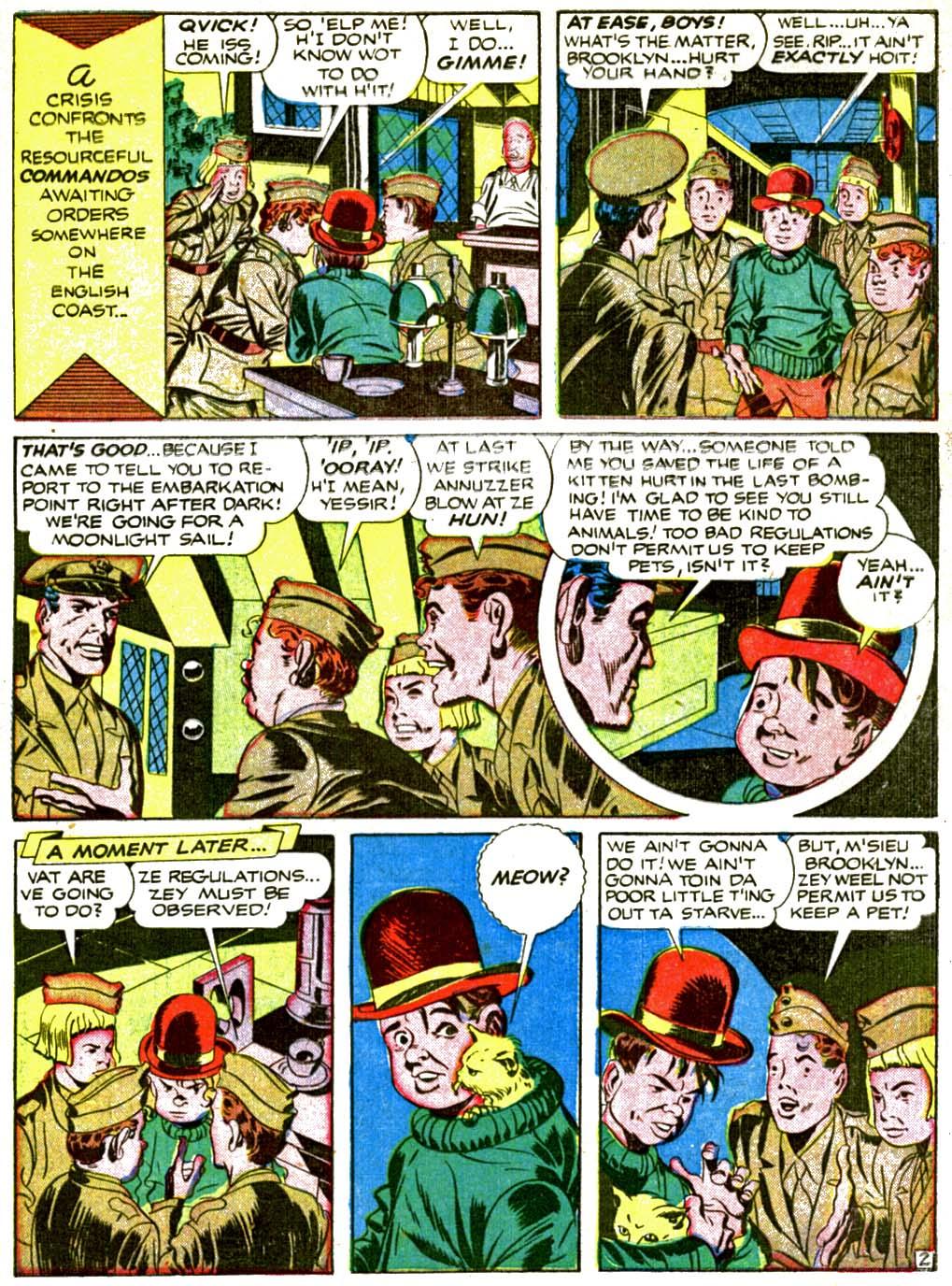 Boy Commandos issue 2 - Page 58