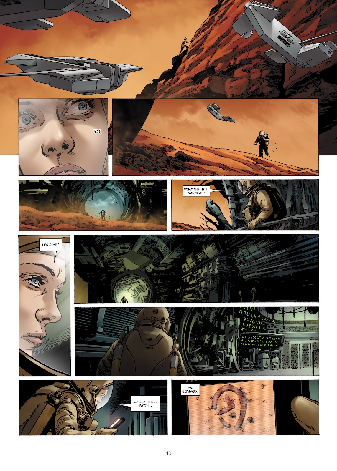 Read online Olympus Mons Vol. 1: Anomaly One comic -  Issue #4 - 38