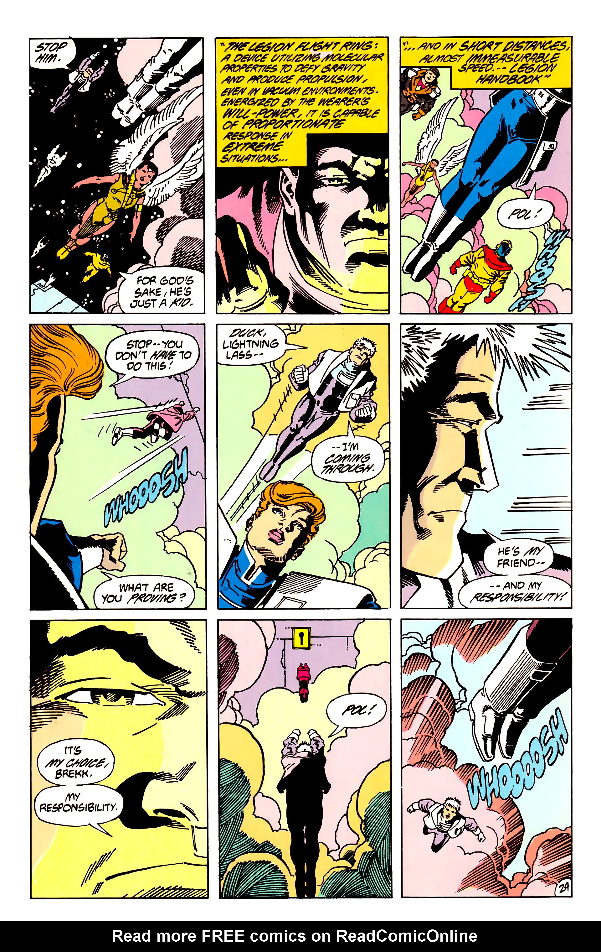 Legion of Super-Heroes (1984) 62 Page 24