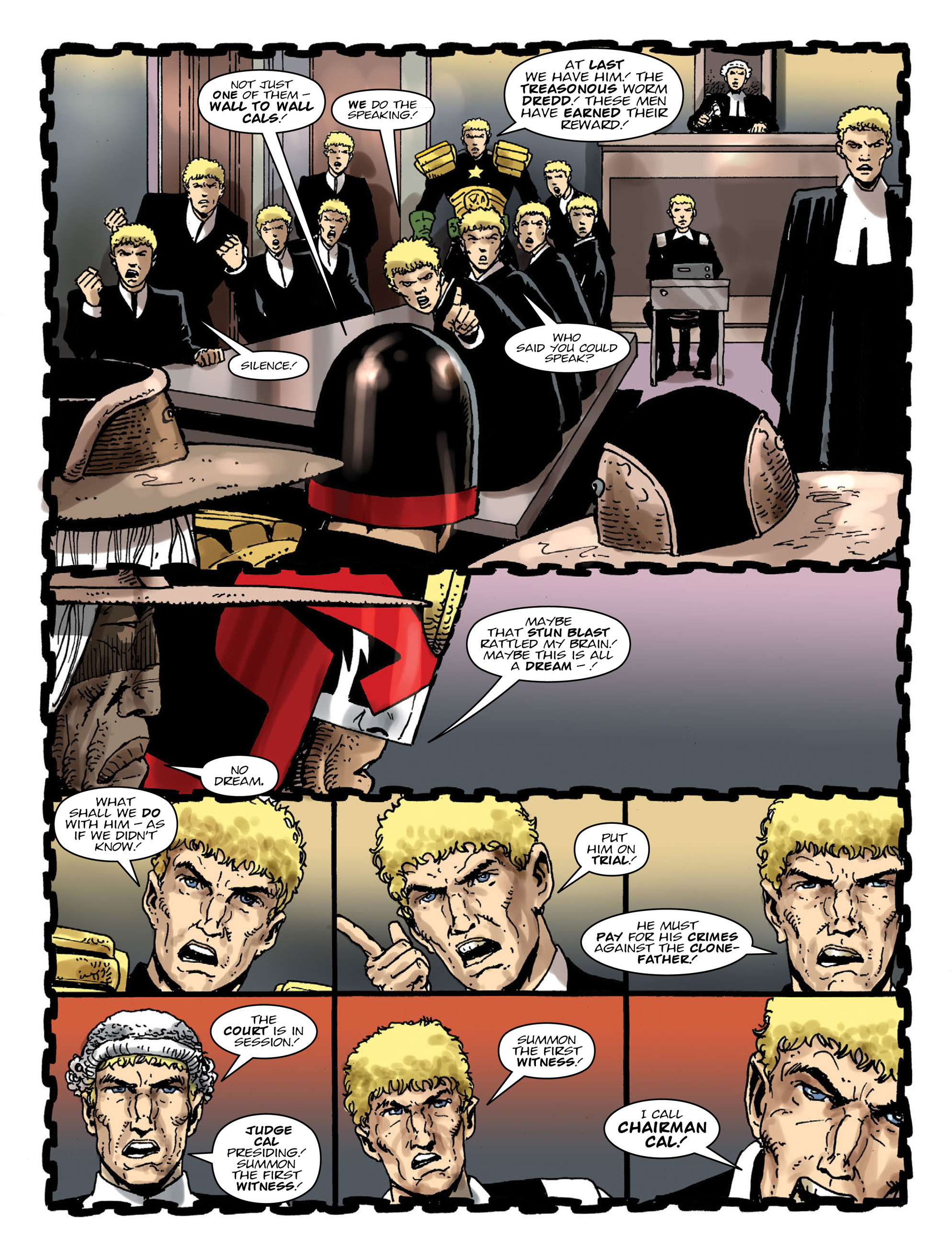 Read online 2000 AD comic -  Issue #2000 - 11