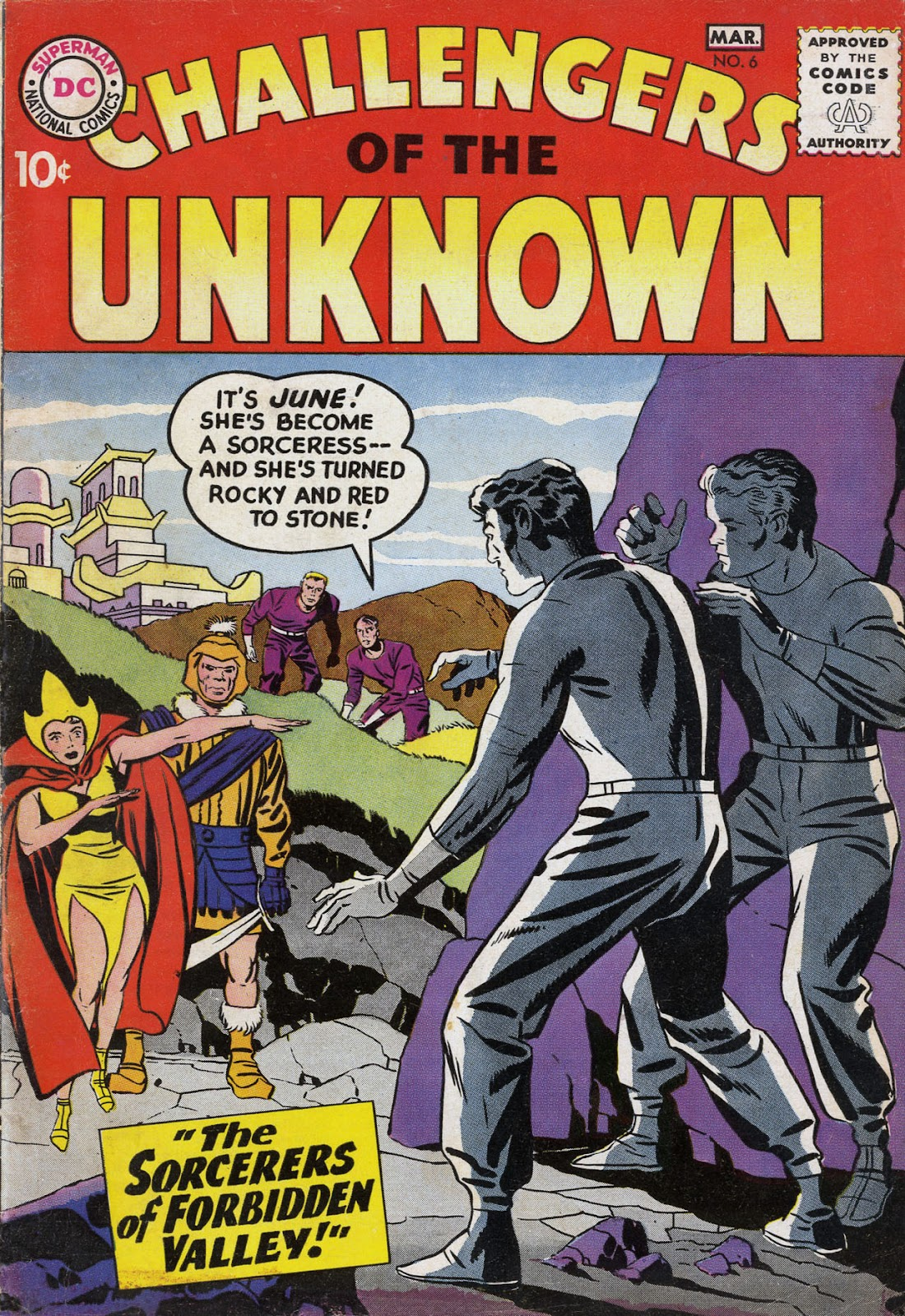 Challengers of the Unknown (1958) issue 6 - Page 1