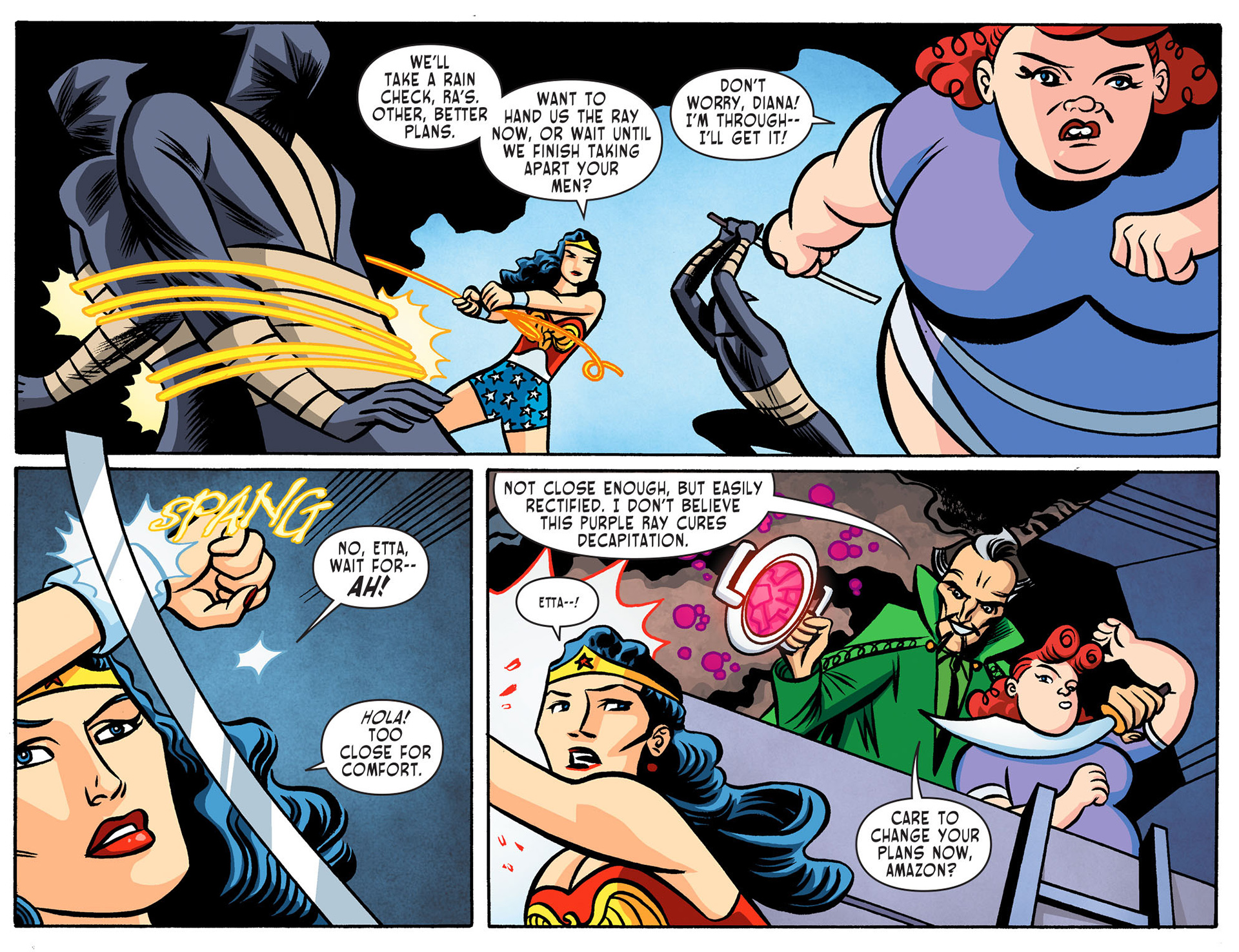 Read online Sensation Comics Featuring Wonder Woman comic -  Issue #8 - 4