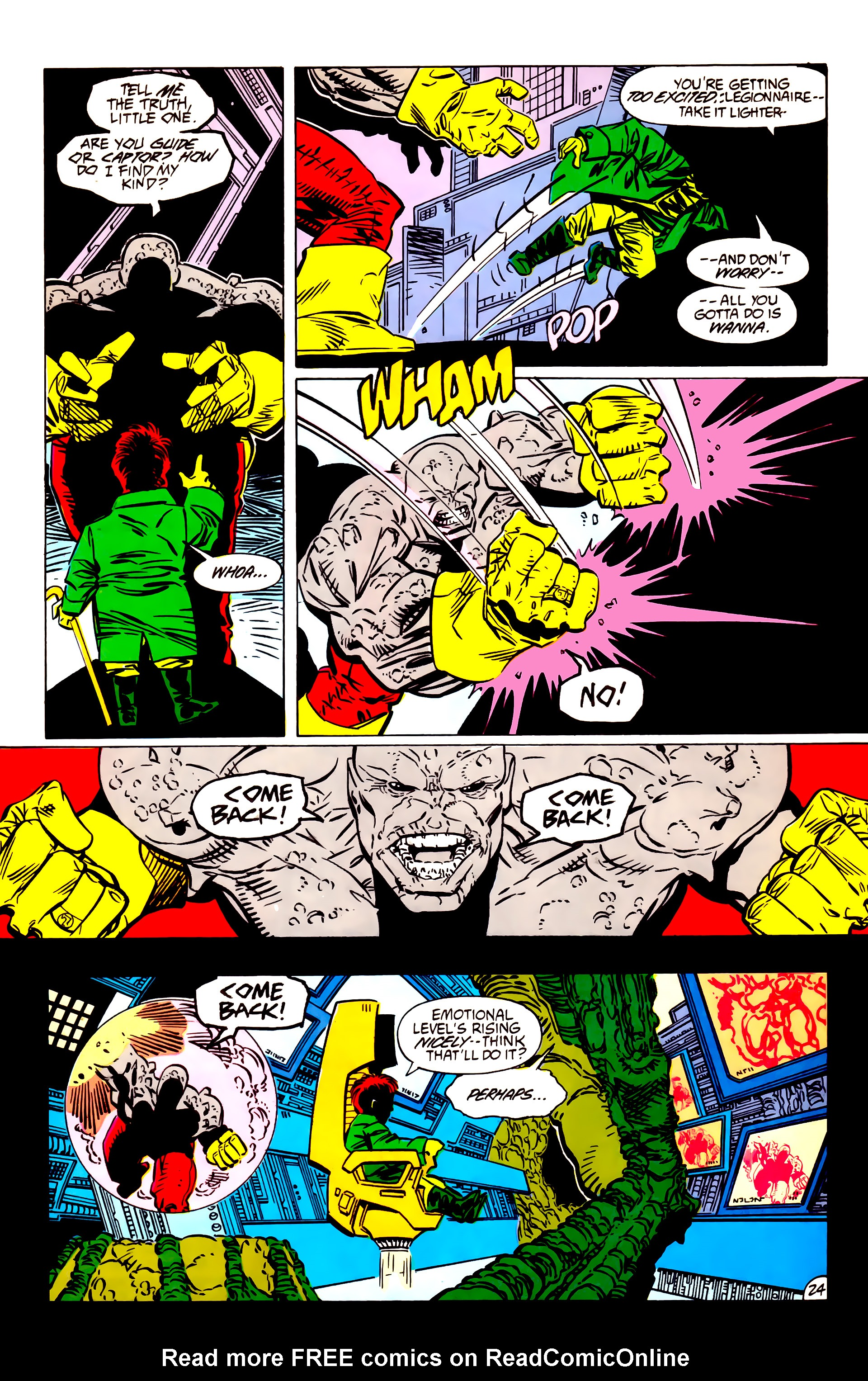 Legion of Super-Heroes (1984) 55 Page 24