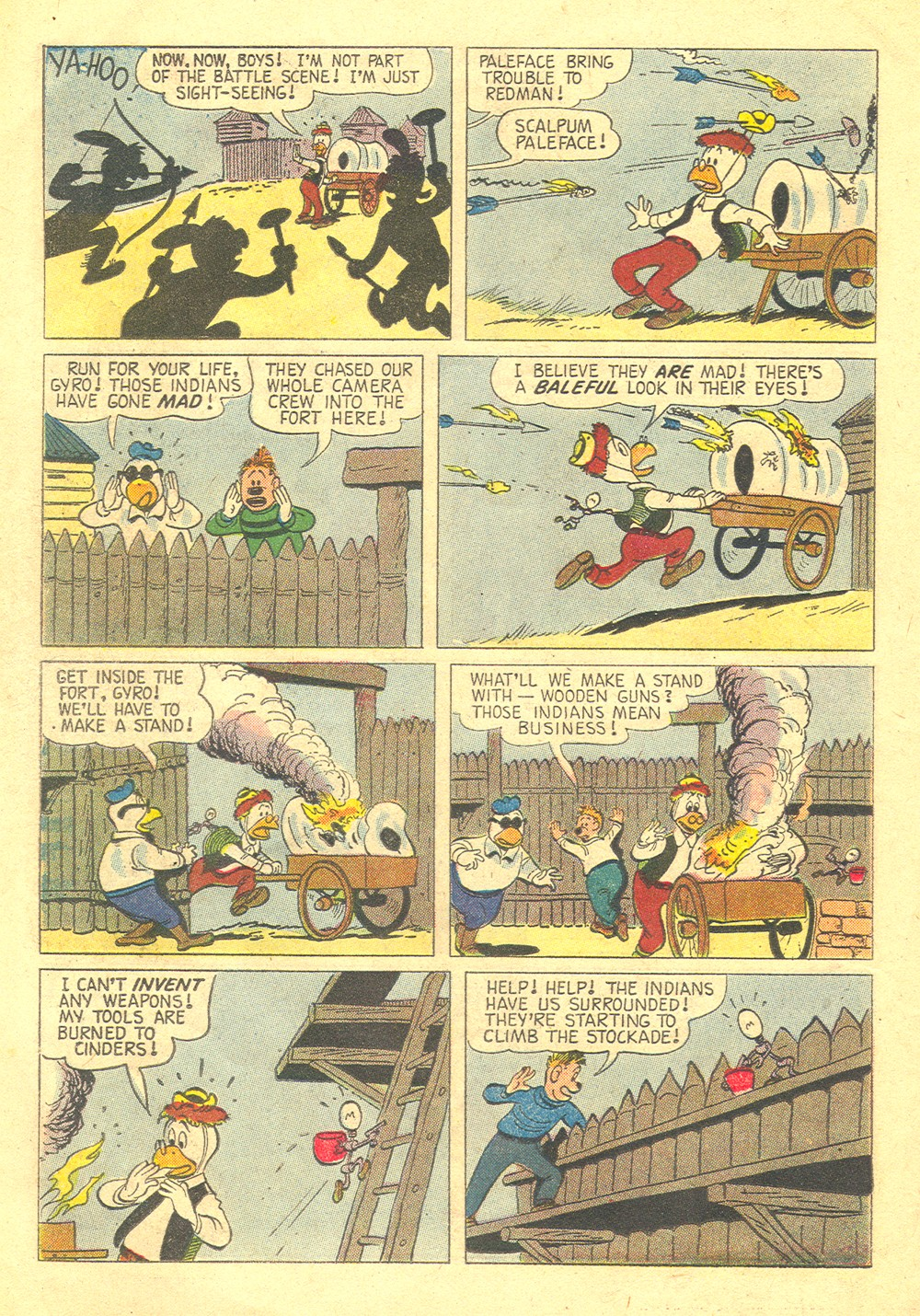 Read online Uncle Scrooge (1953) comic -  Issue #30 - 22