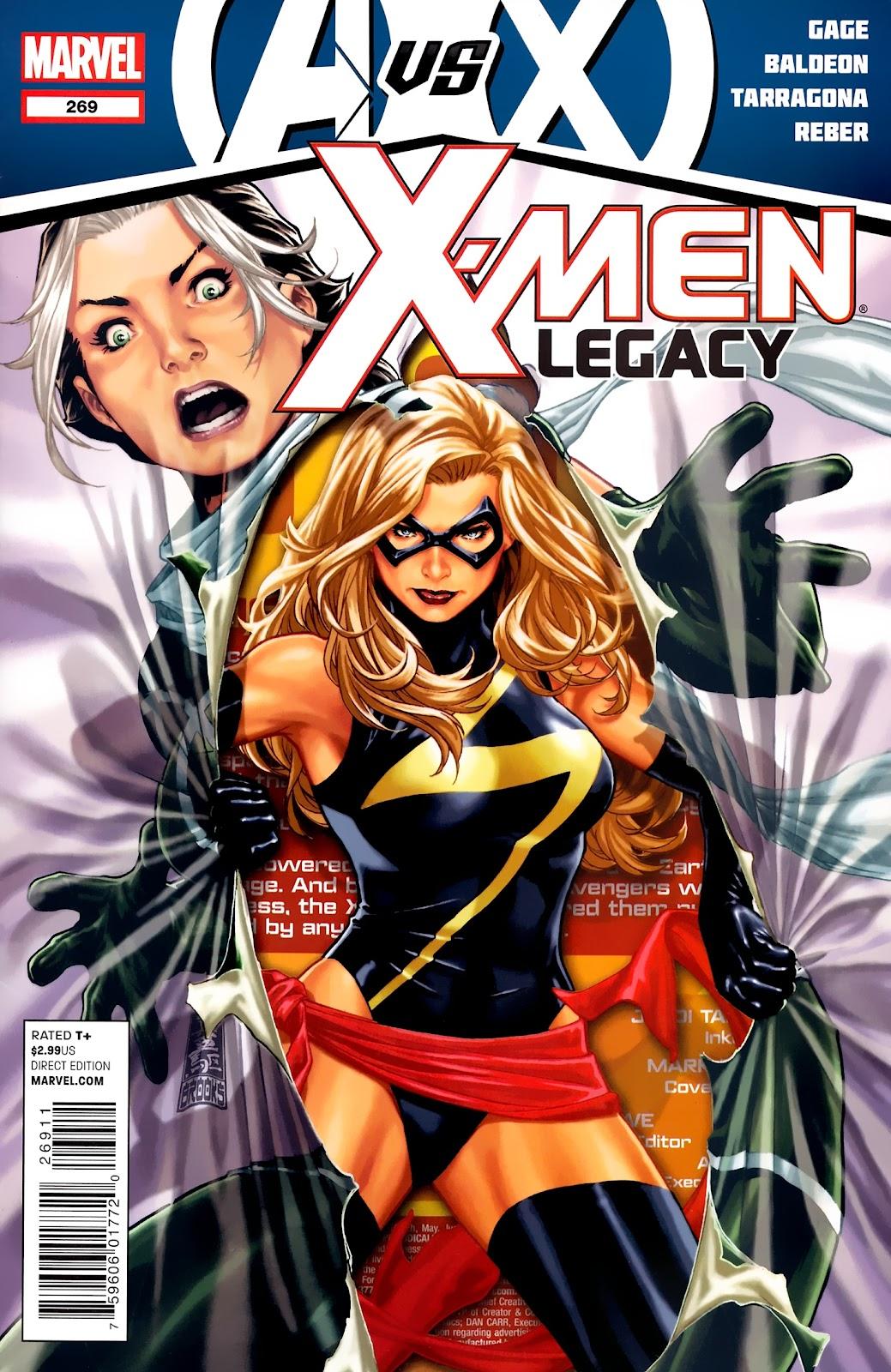 X-Men Legacy (2008) 269 Page 1