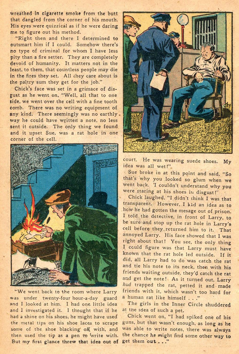 Read online Shadow Comics comic -  Issue #60 - 28