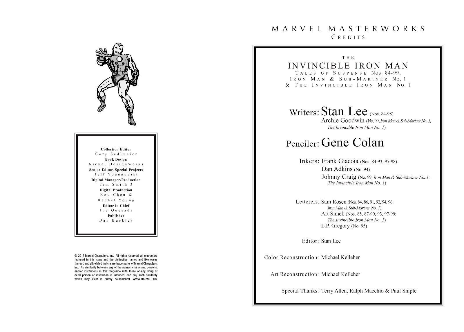 Read online Marvel Masterworks: The Invincible Iron Man comic -  Issue # TPB 4 (Part 1) - 3