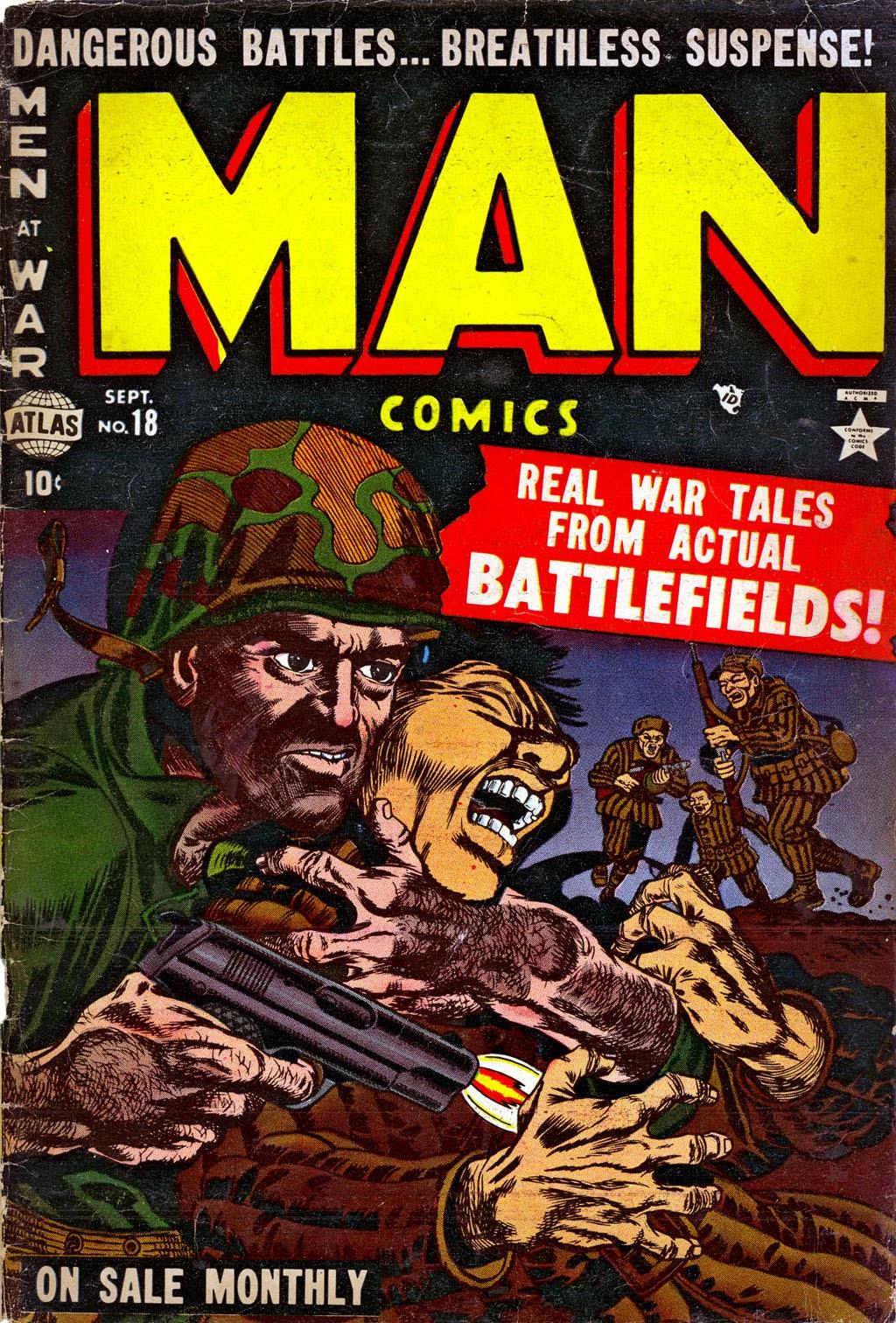 Man Comics 18 Page 1