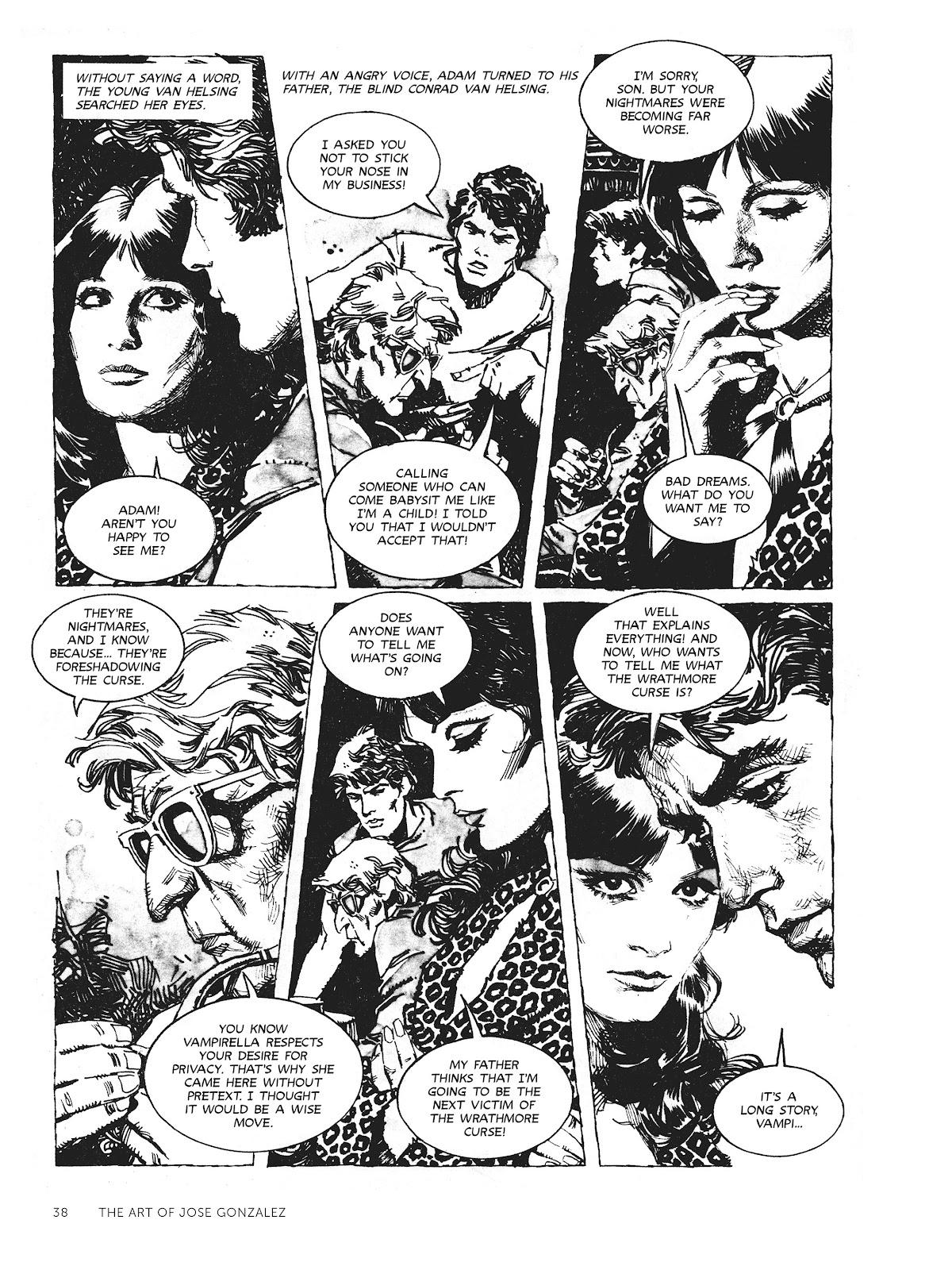 Read online The Art of Jose Gonzalez comic -  Issue # TPB (Part 1) - 39